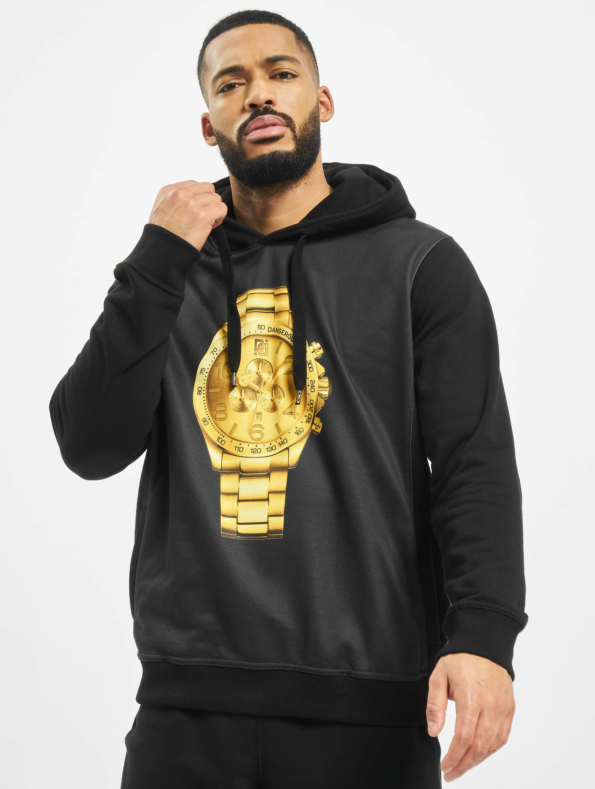 Dangerous DNGRS Goldwatch Hoody Black