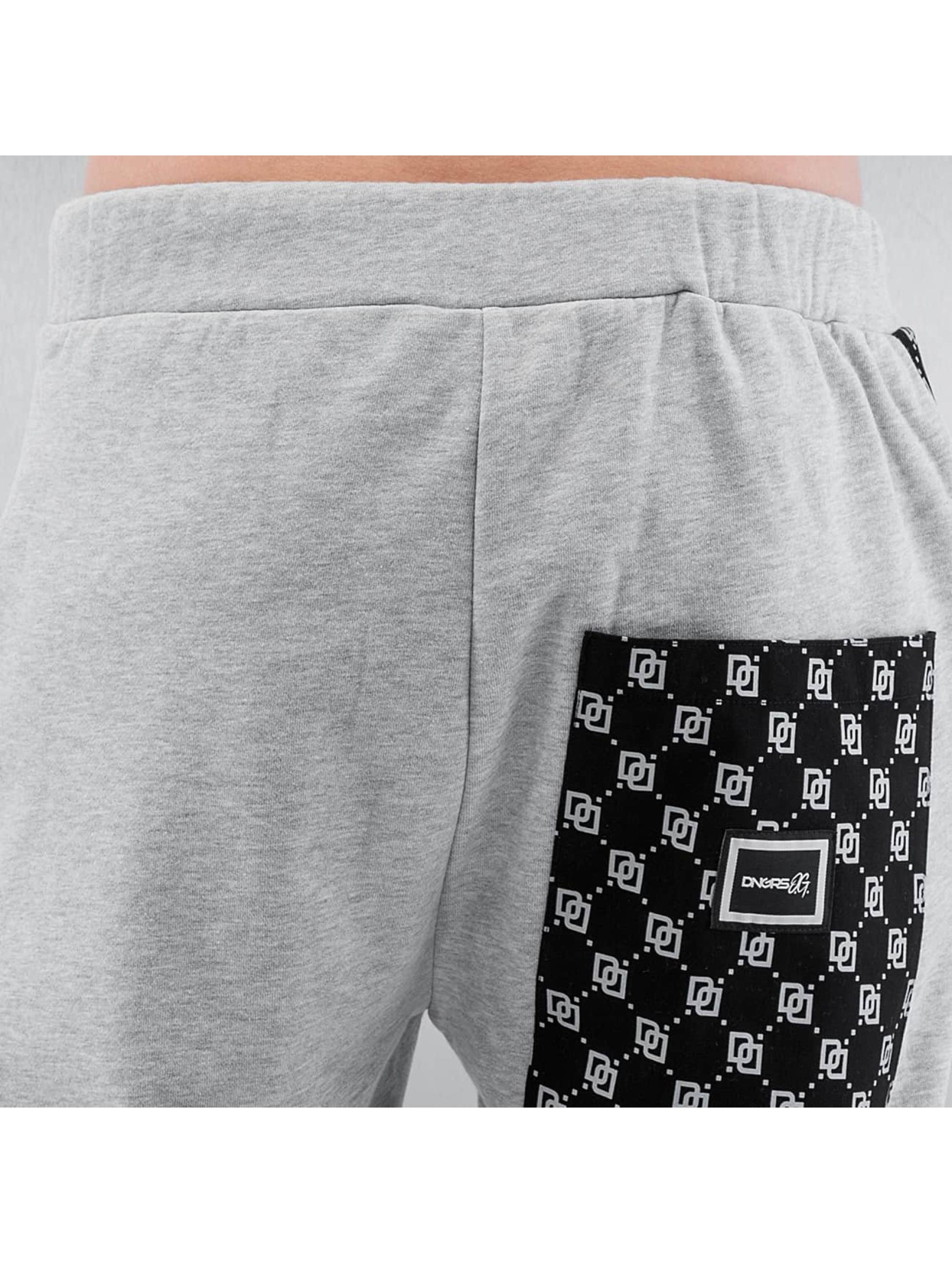 Dangerous DNGRS Joggebukser Mini Logo grå