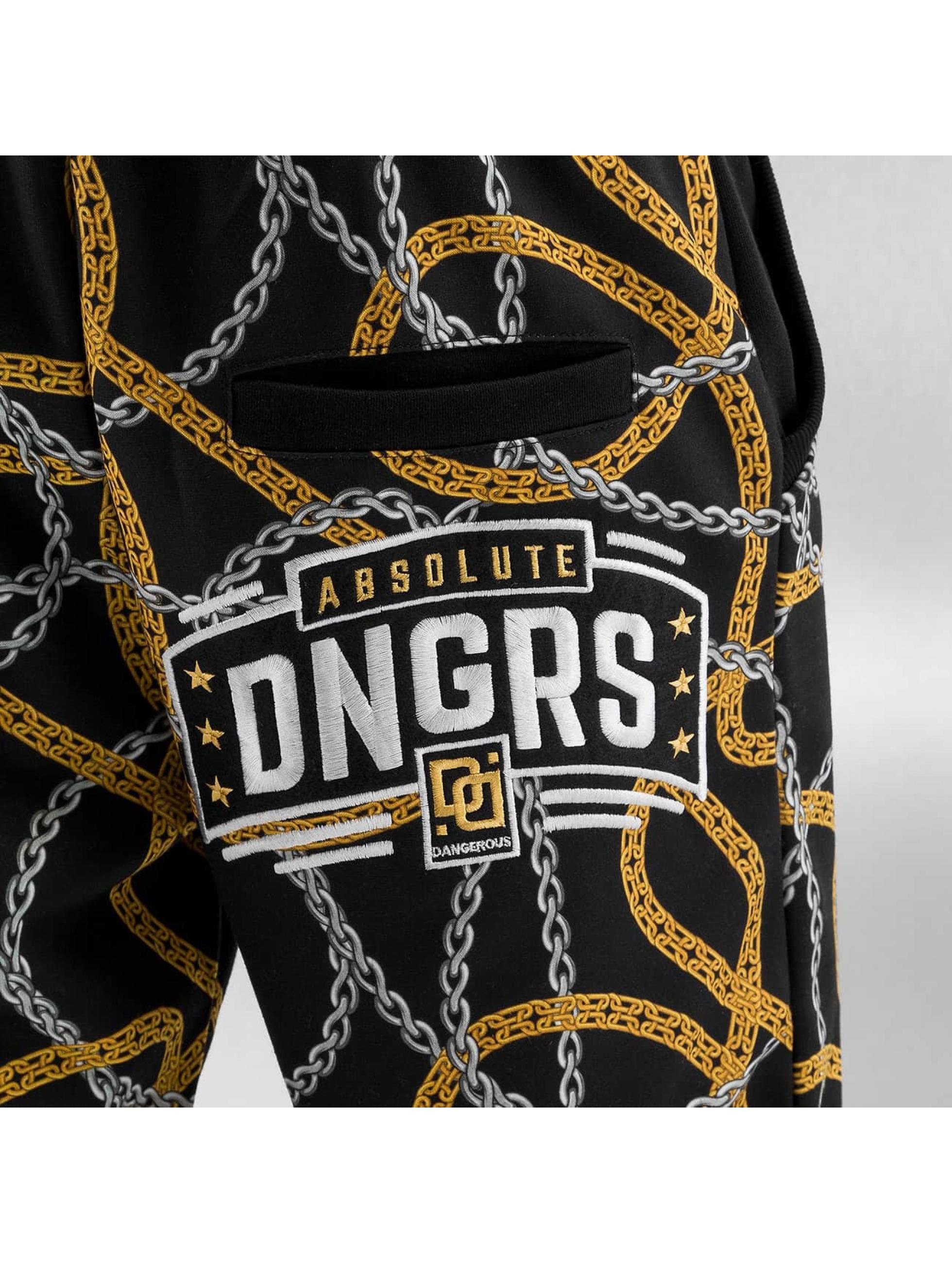 Dangerous DNGRS Jogging Chains noir