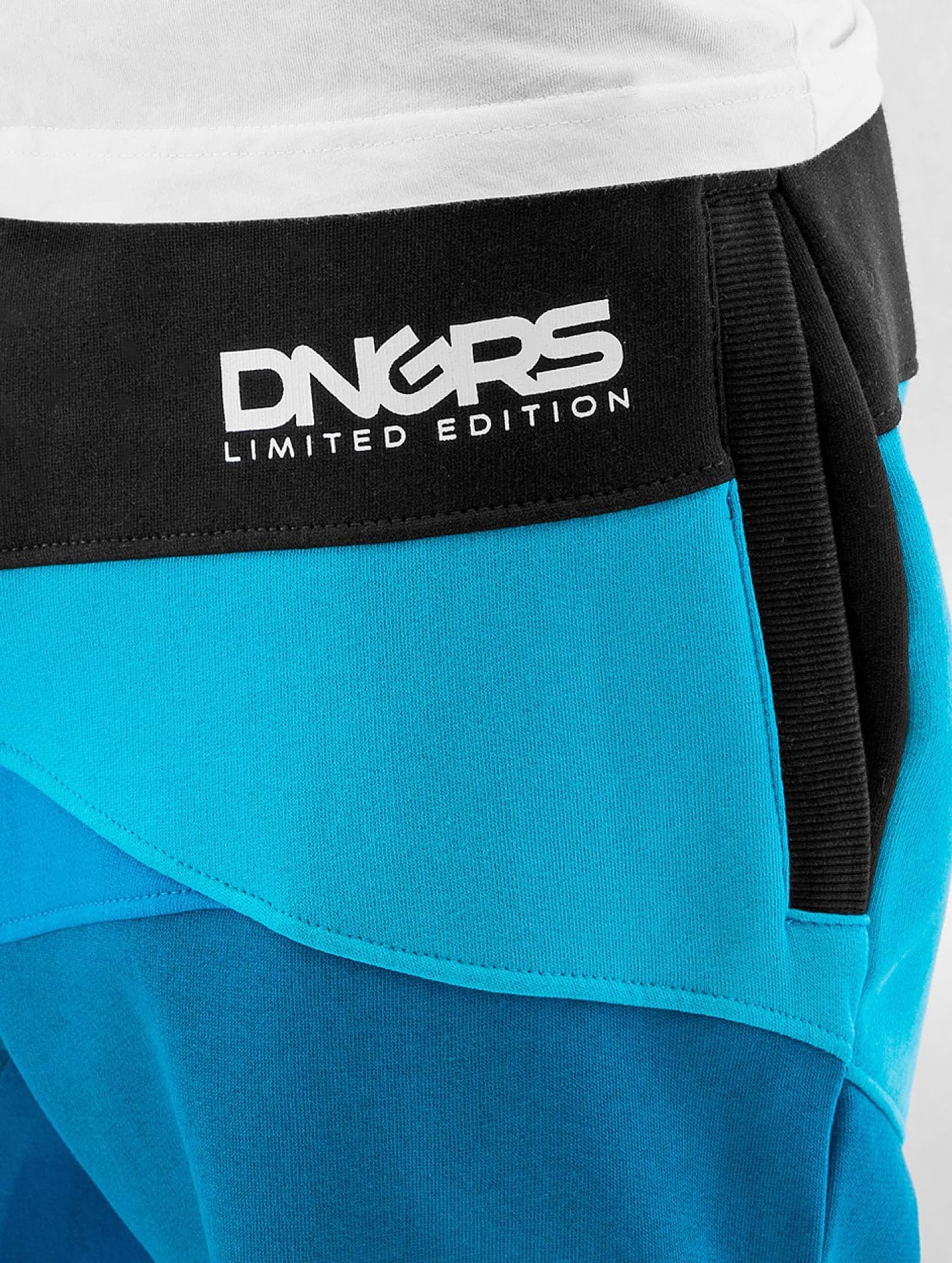 Dangerous DNGRS joggingbroek Locotay blauw