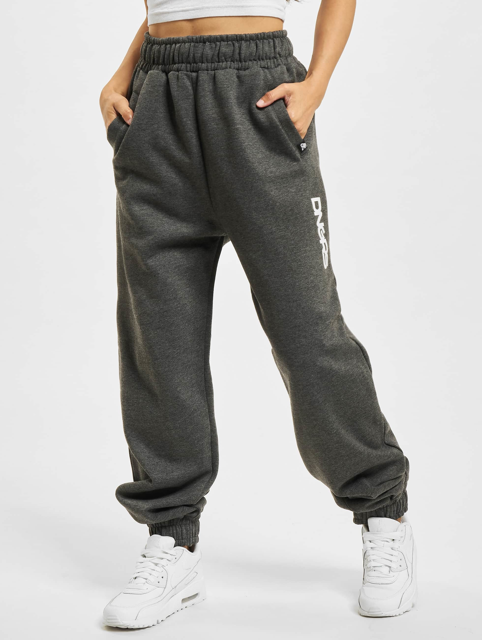 Dangerous DNGRS joggingbroek Soft Dream Leila Ladys Logo grijs