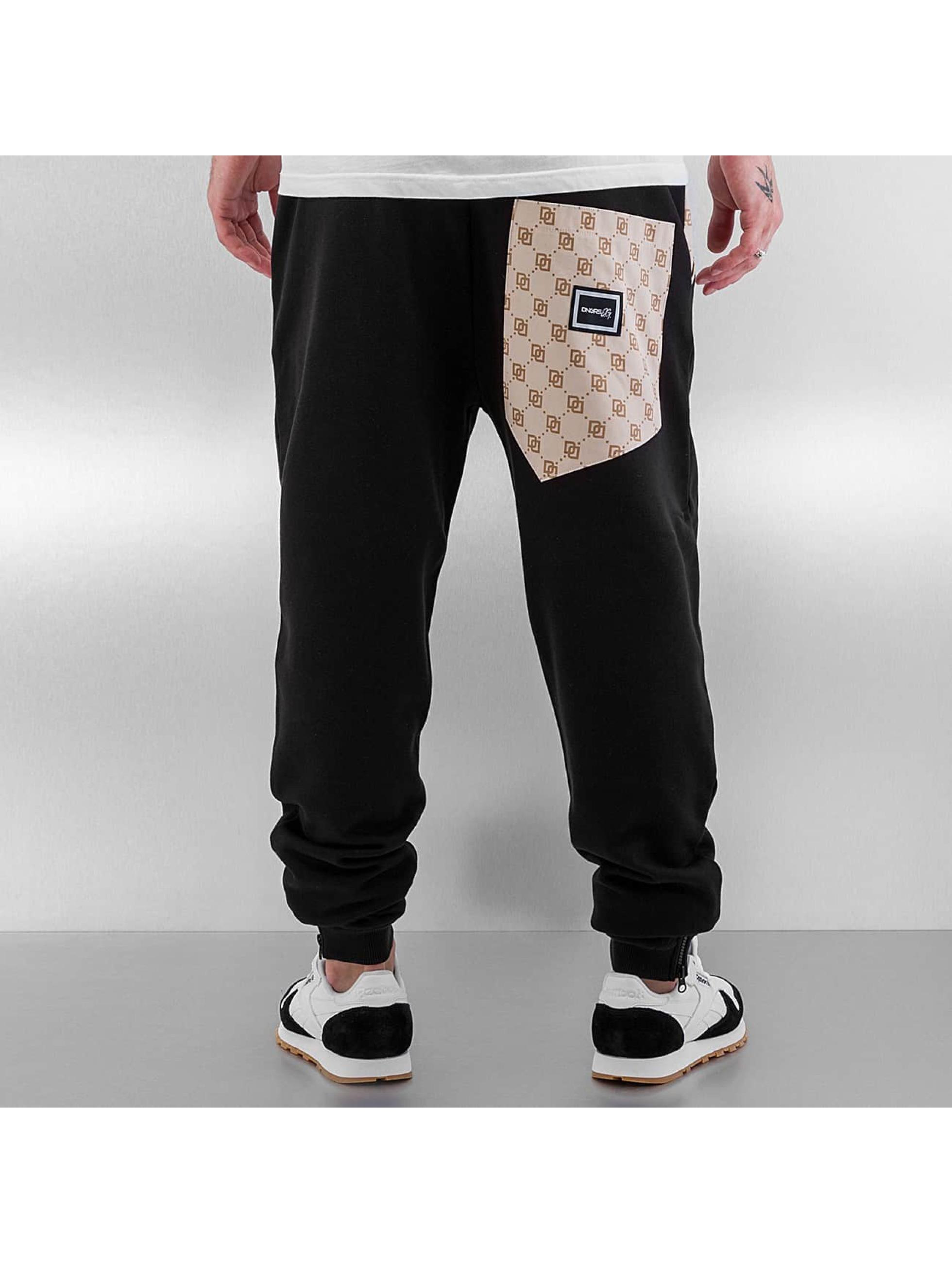 Dangerous DNGRS joggingbroek Mini Logo zwart