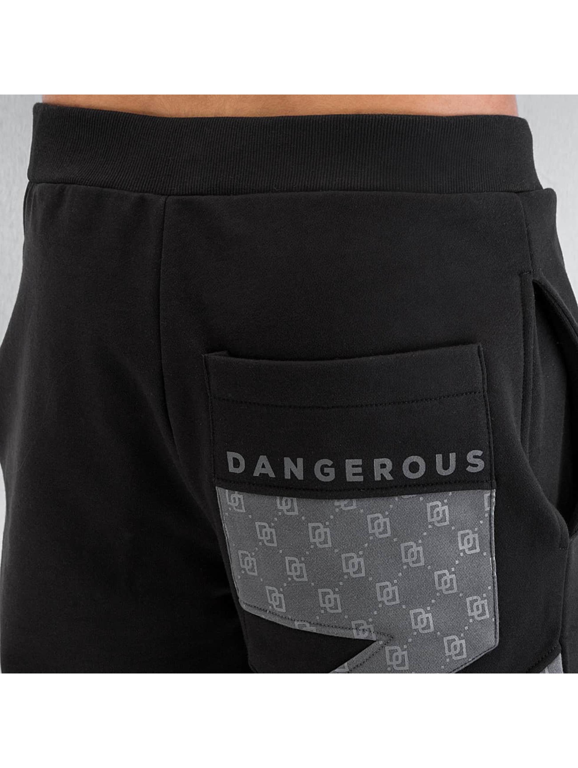 Dangerous DNGRS joggingbroek Small Symbols zwart