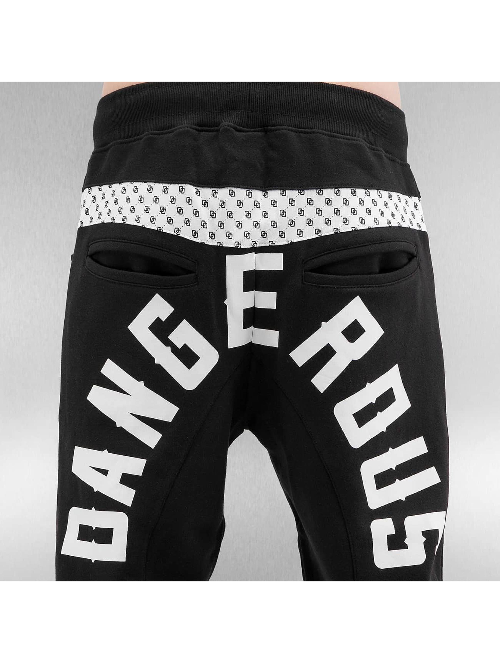Dangerous DNGRS joggingbroek Simon zwart