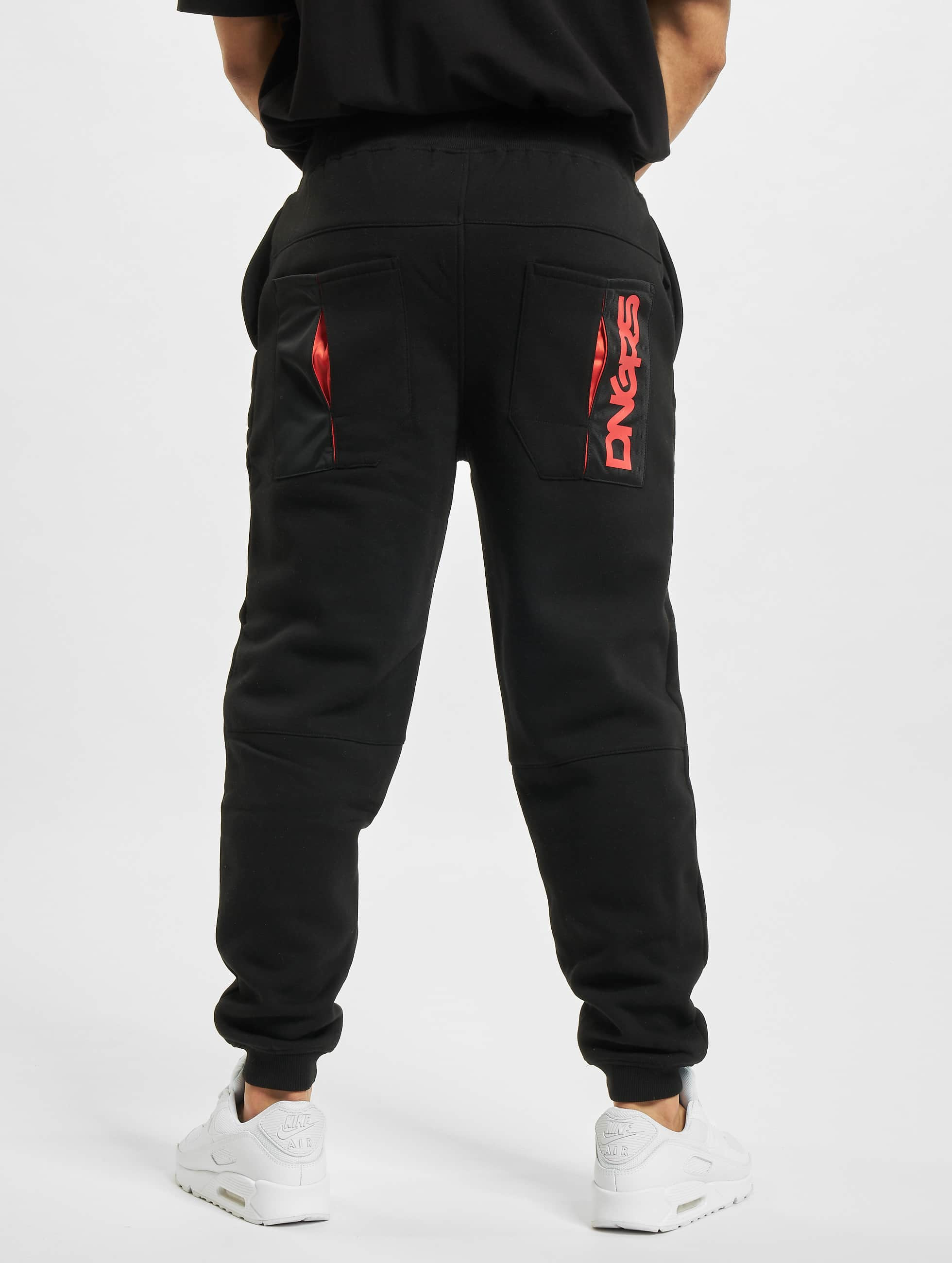Dangerous DNGRS joggingbroek New Pockets zwart