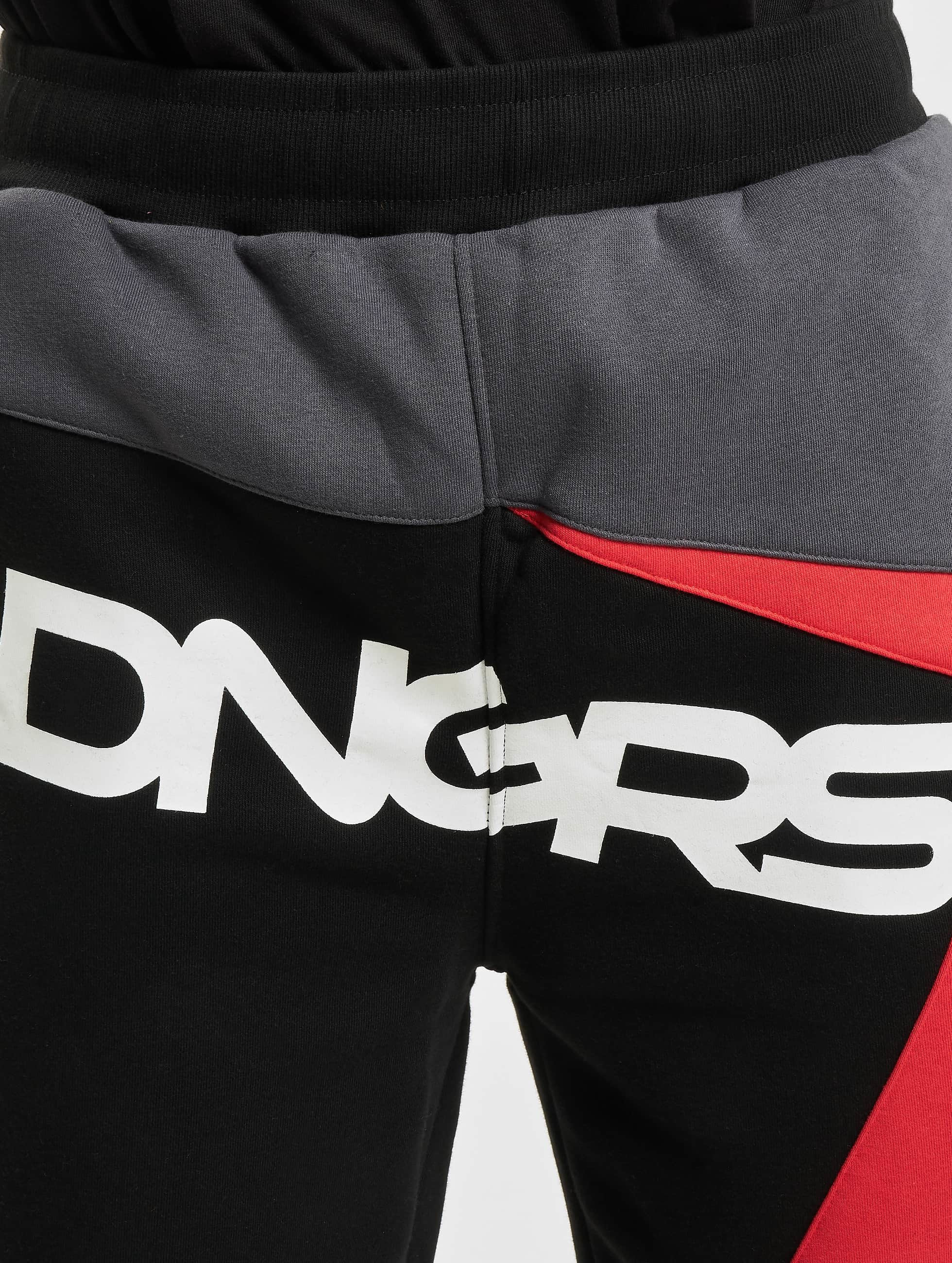 Dangerous DNGRS joggingbroek Race City zwart