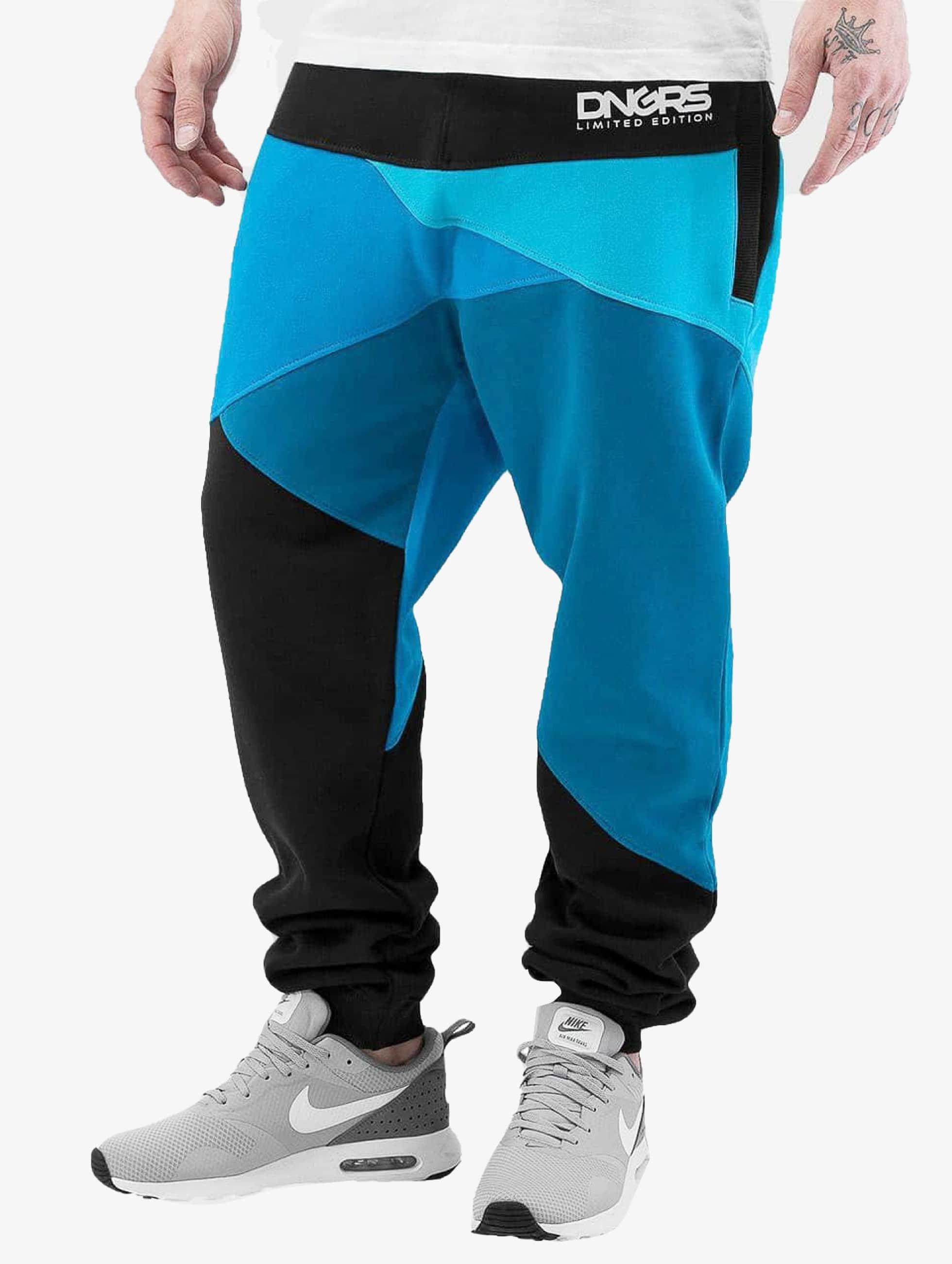 Dangerous DNGRS Jogginghose Locotay blau