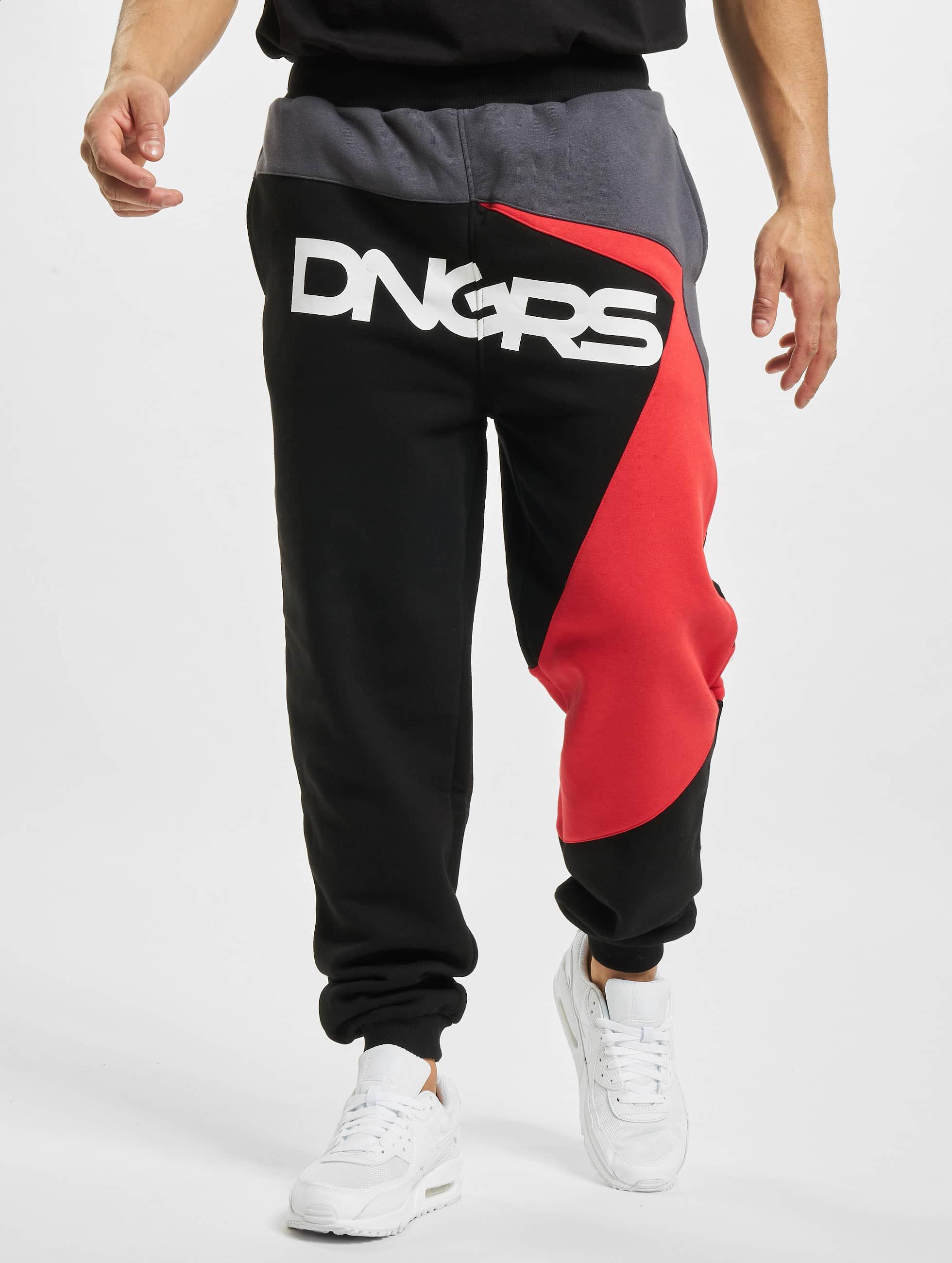 Dangerous DNGRS Jogginghose Race City schwarz