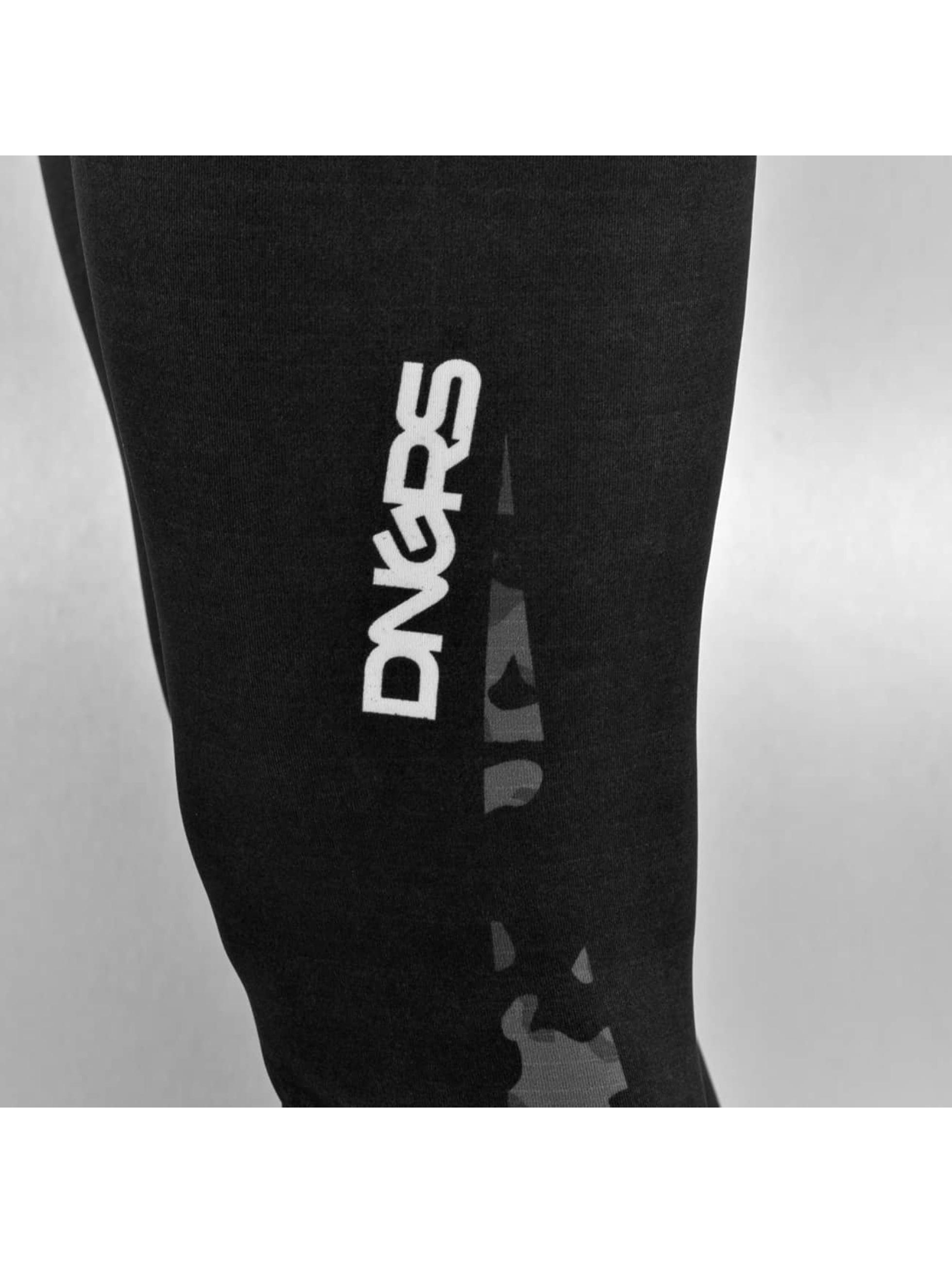 Dangerous DNGRS Leggingsit/Treggingsit Camo musta