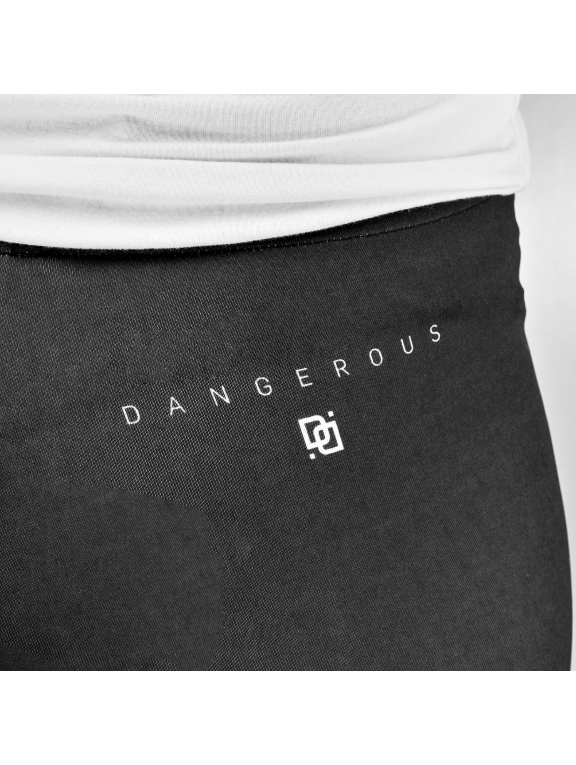 Dangerous DNGRS Leggingsit/Treggingsit Hope Dope musta