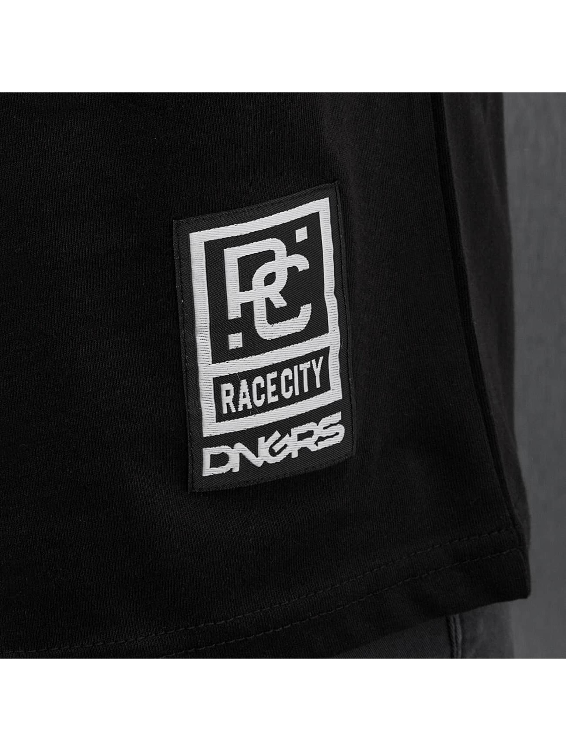 Dangerous DNGRS Longsleeve Logo Race City schwarz