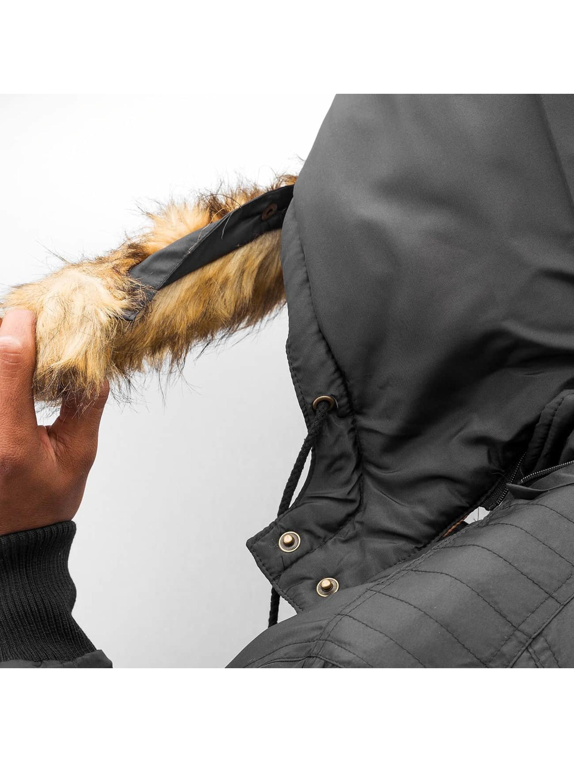 Dangerous DNGRS Manteau hiver Storm noir