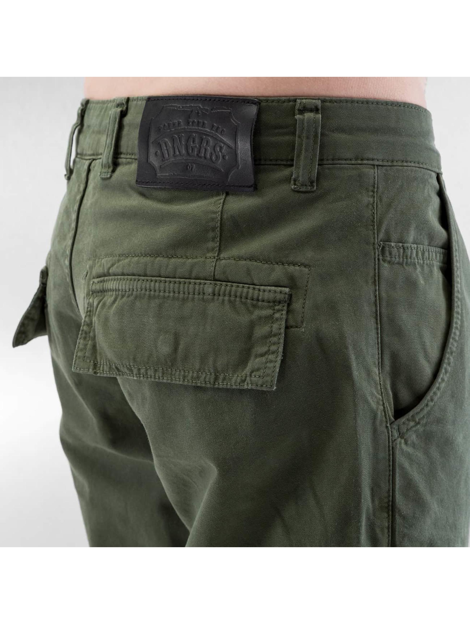 Dangerous DNGRS Pantalon cargo Thomas olive