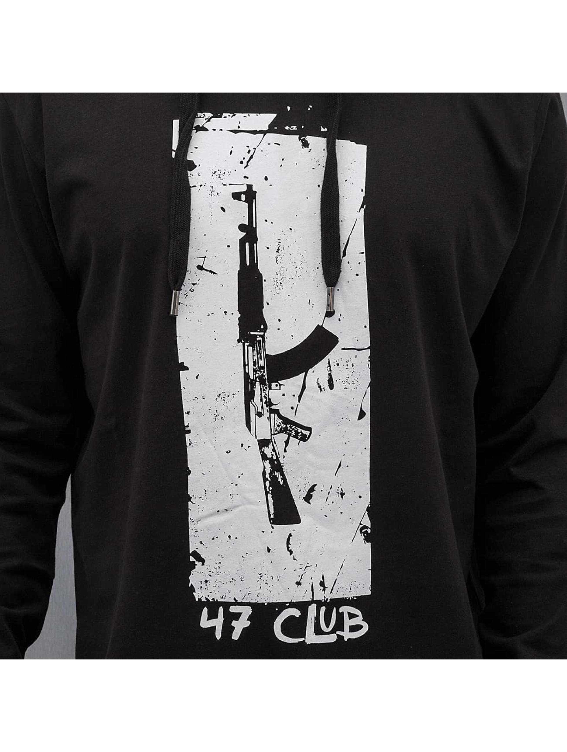 Dangerous DNGRS Pitkähihaiset paidat 47 Club musta