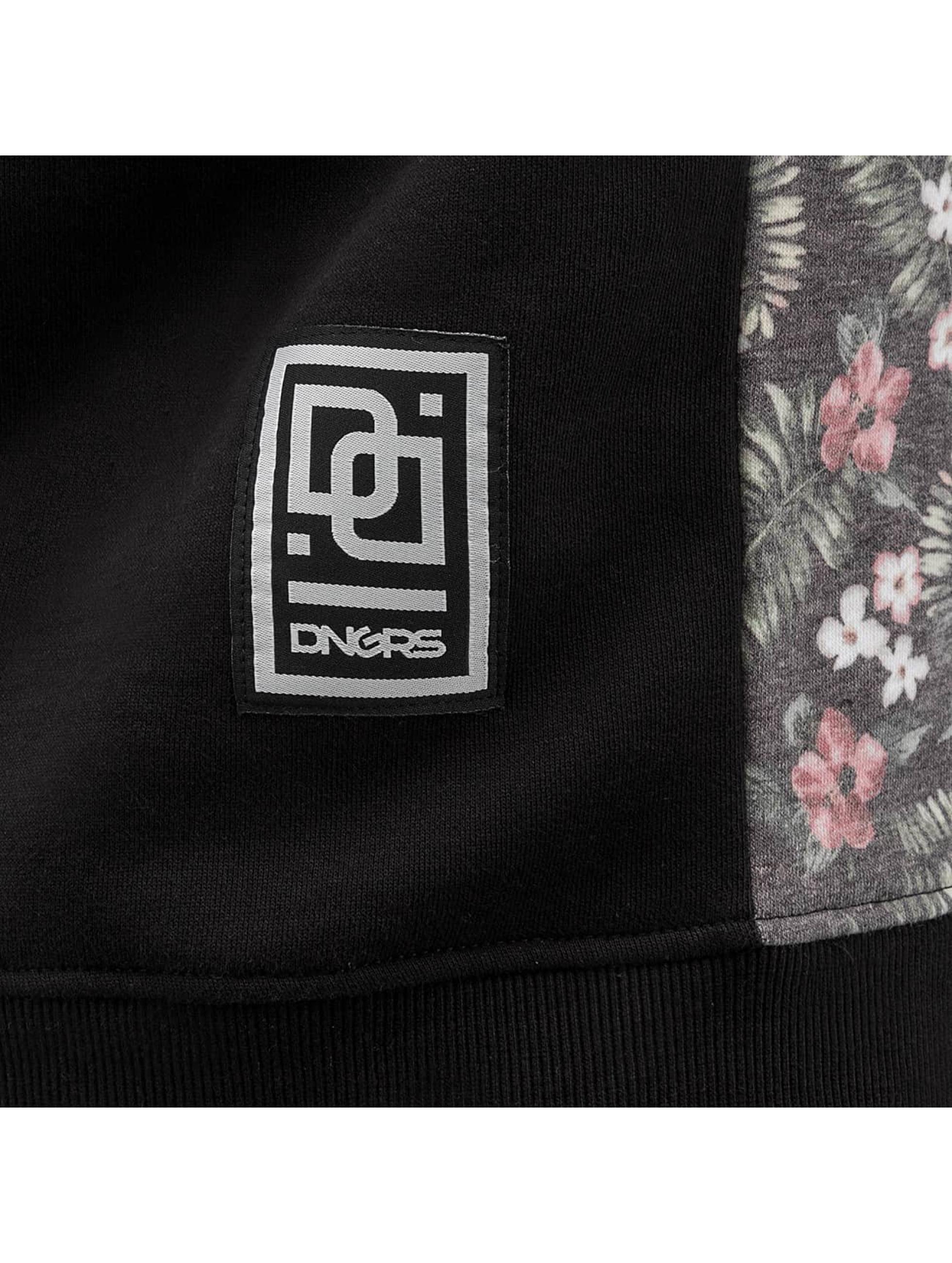 Dangerous DNGRS Pullover Tropical schwarz