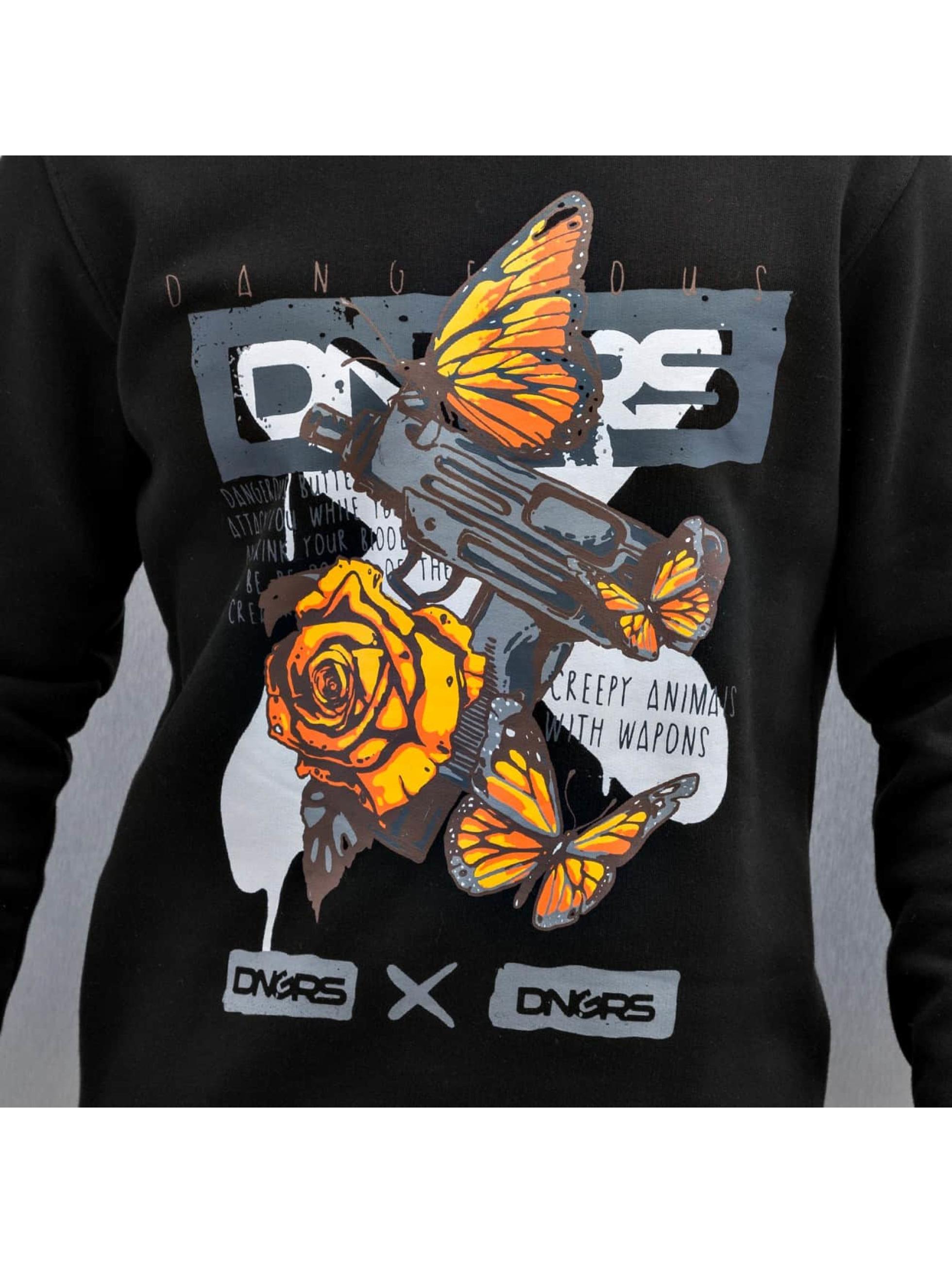 Dangerous DNGRS Pullover Harmonious Weapons schwarz