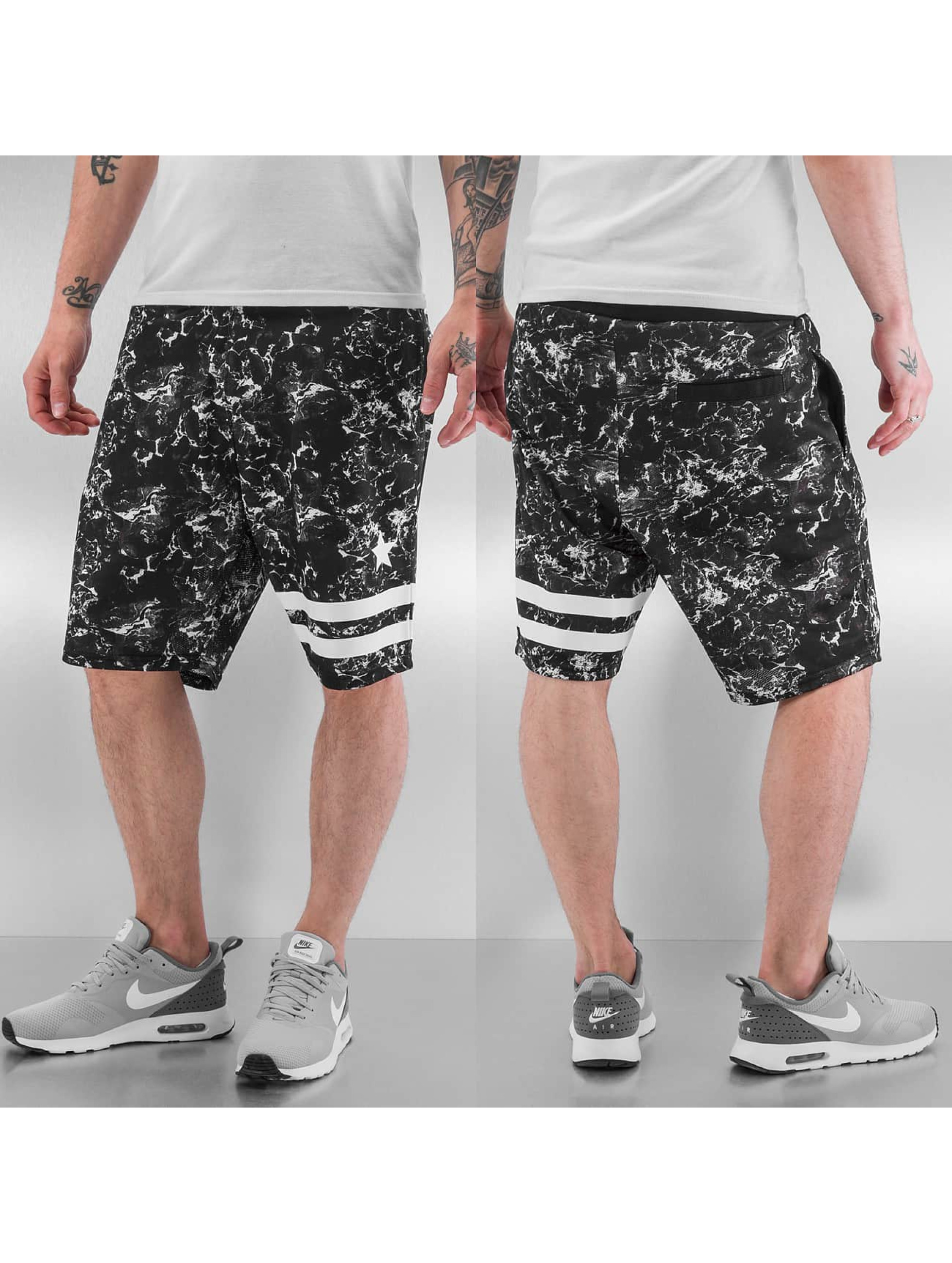 Dangerous DNGRS Shorts Marmor schwarz
