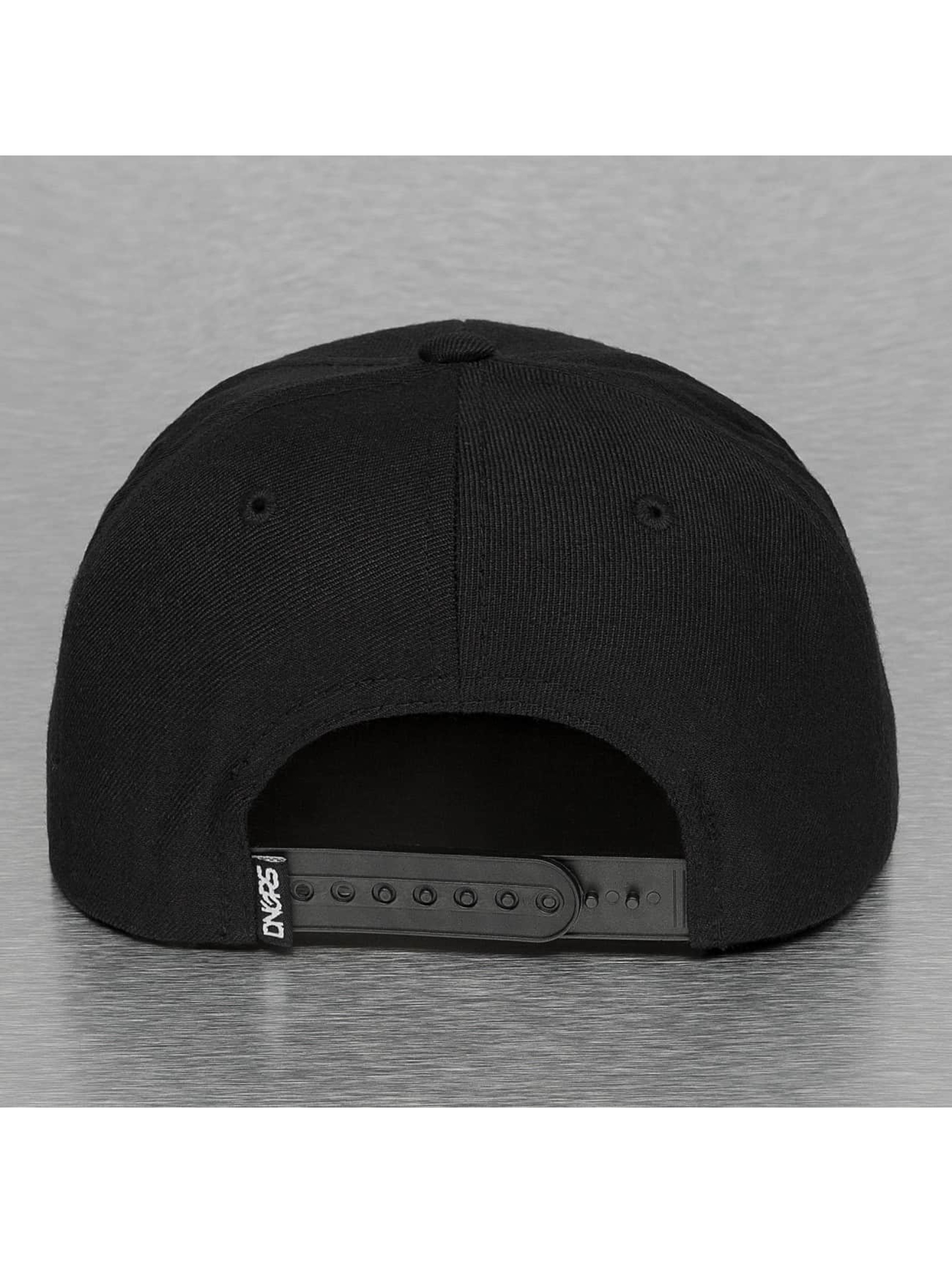 Dangerous DNGRS Snapback Cap Parental Advisory black