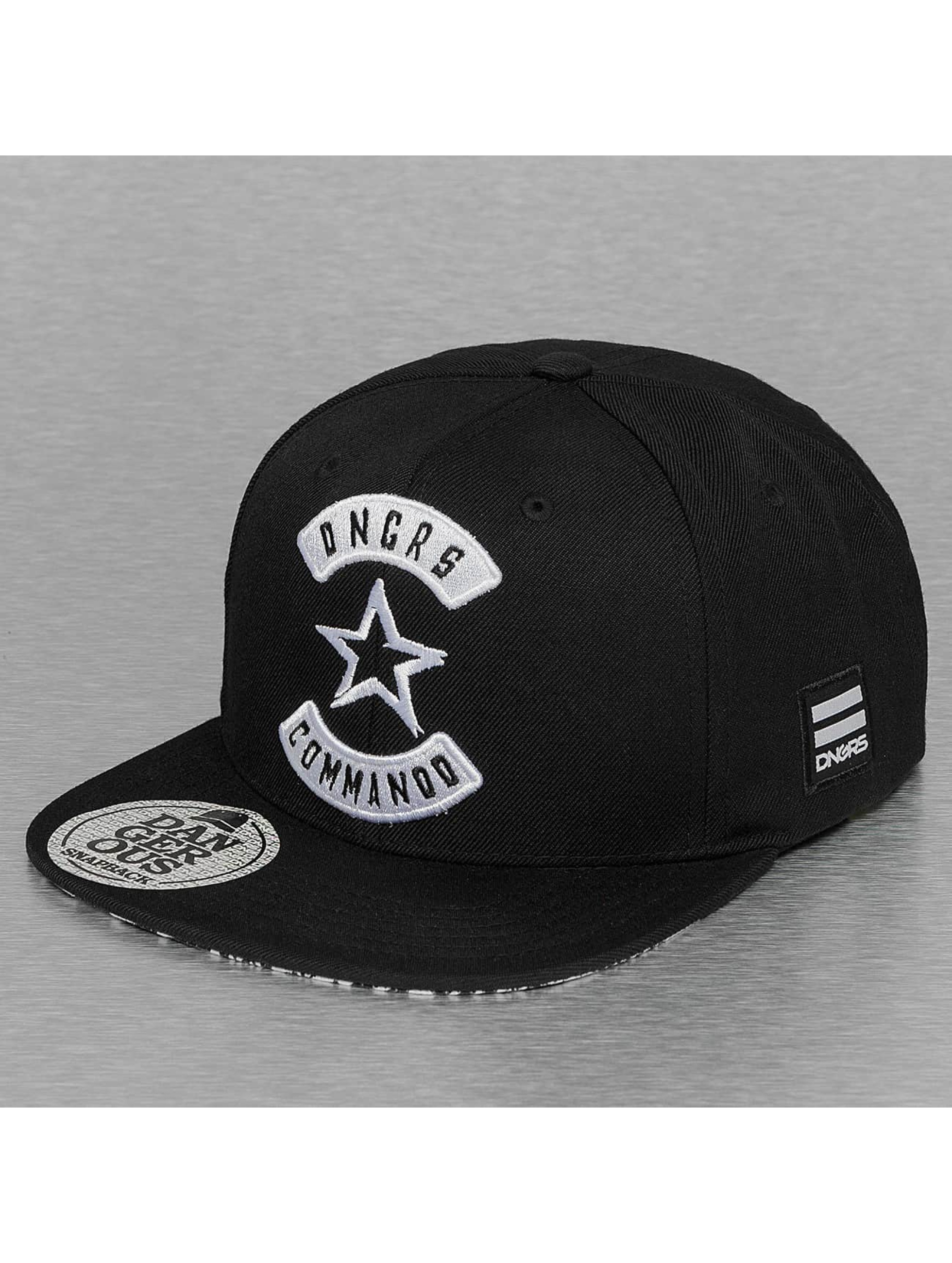 Dangerous DNGRS Snapback Cap Commando schwarz