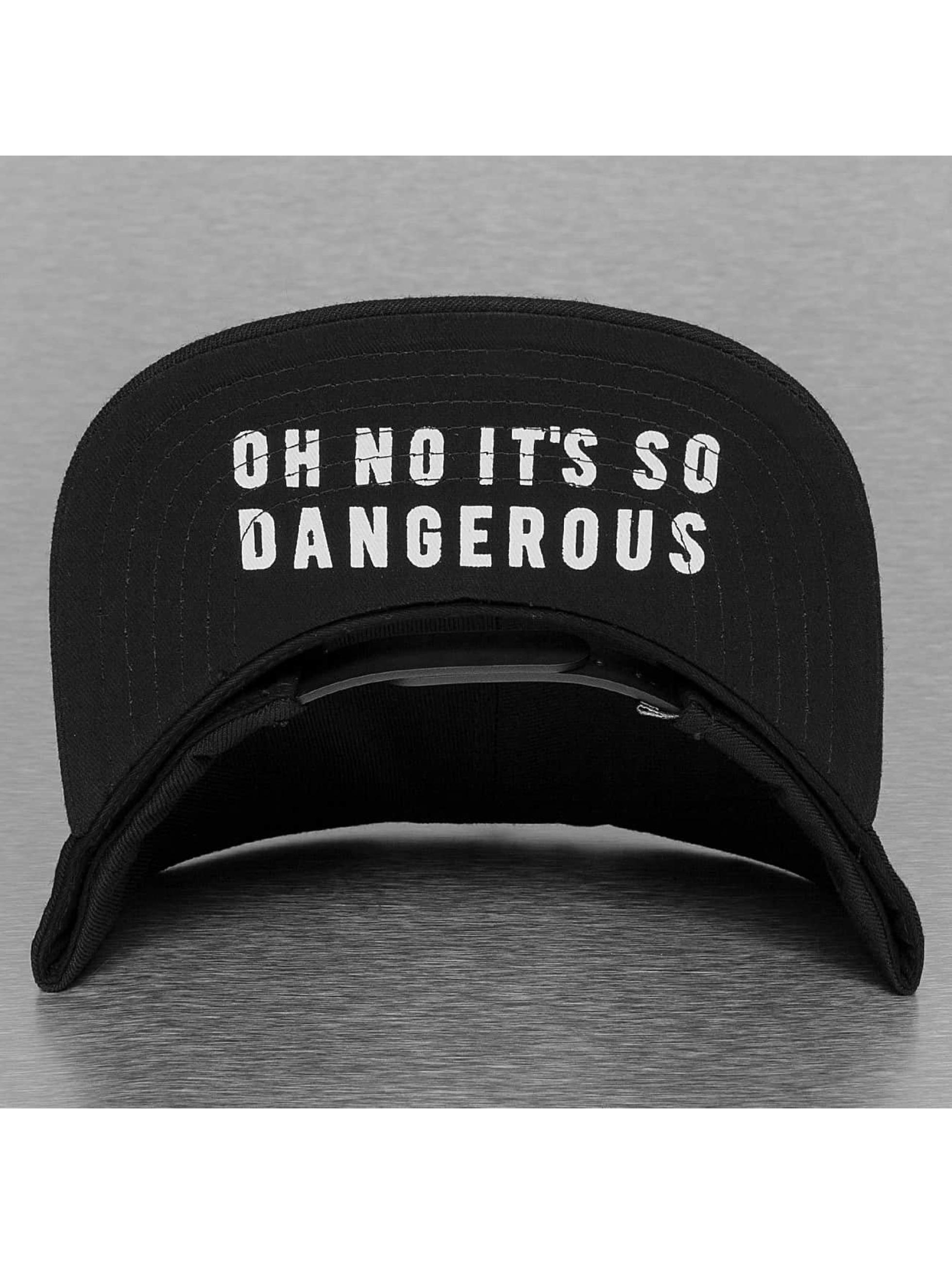 Dangerous DNGRS Snapback Cap Danger schwarz