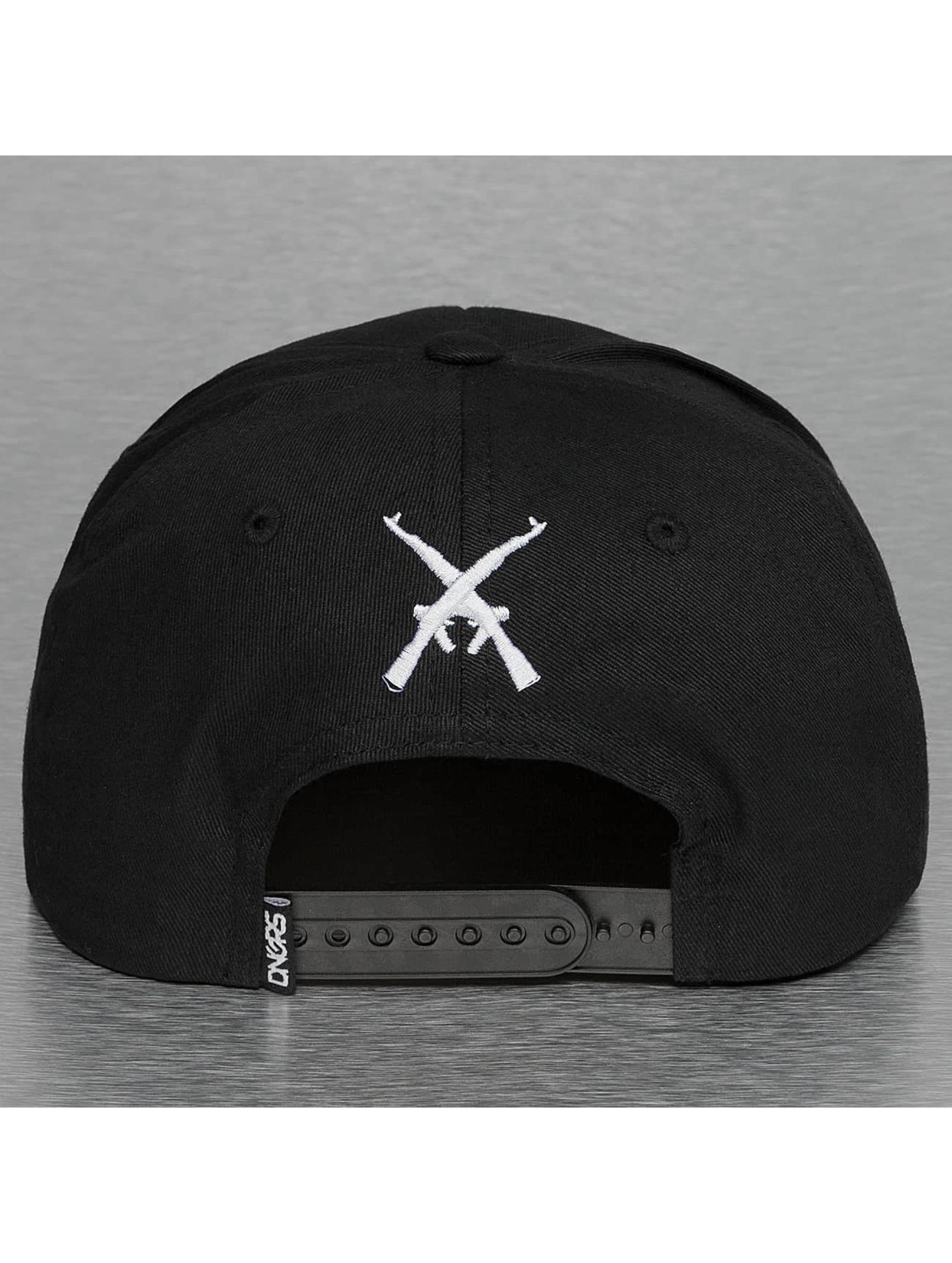 Dangerous DNGRS Snapback Caps Rose czarny