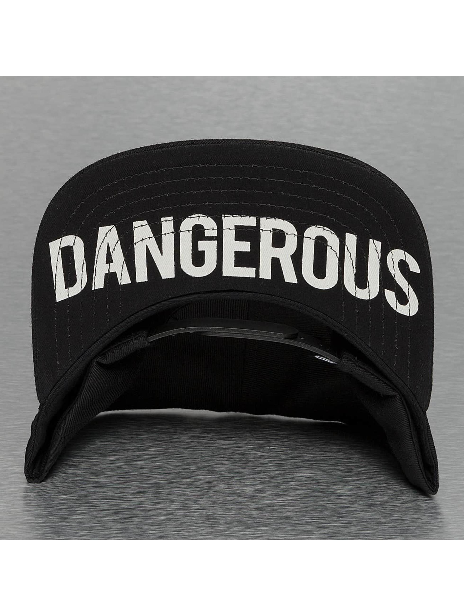 Dangerous DNGRS Snapback Caps DD musta