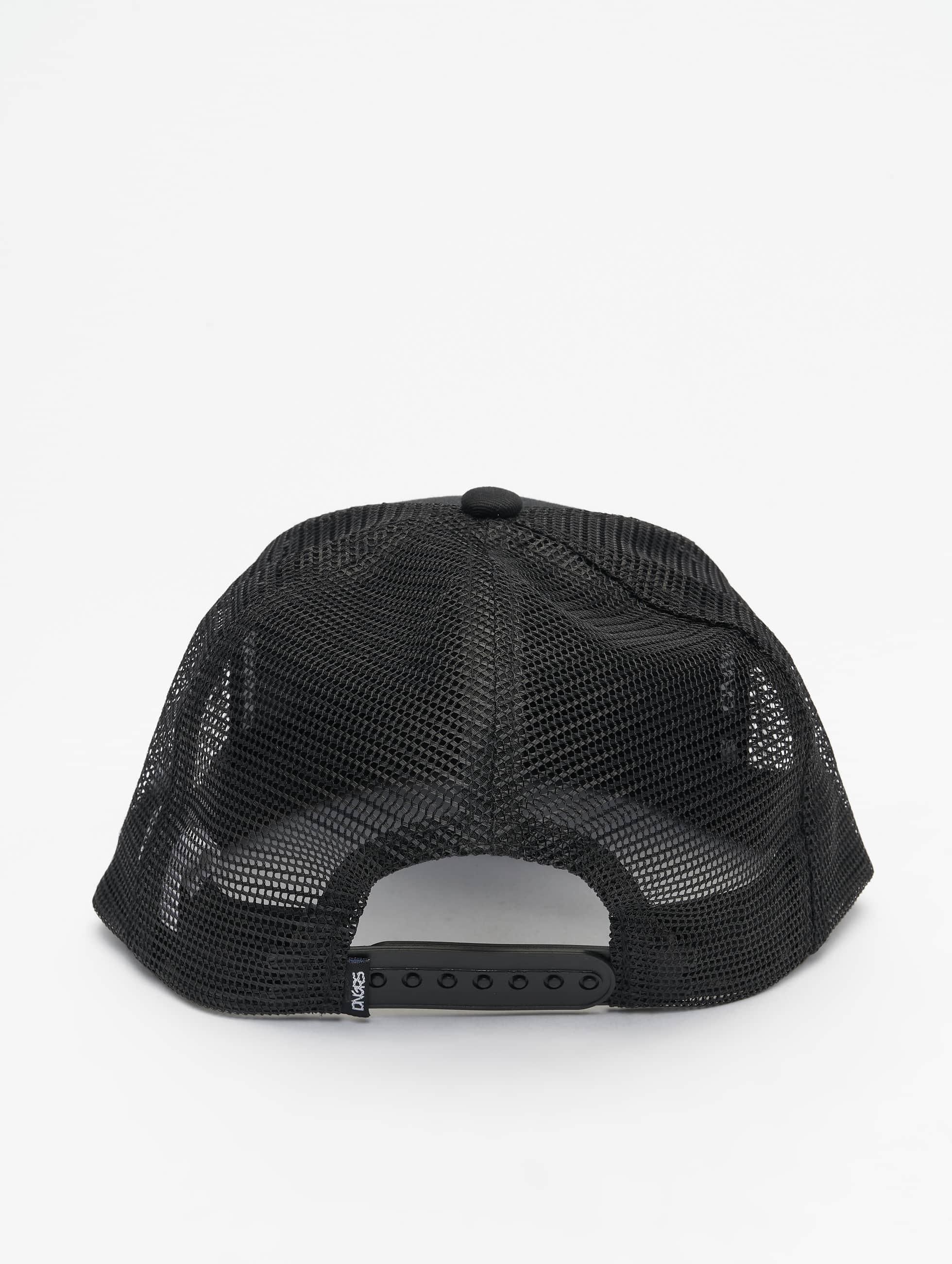 Dangerous DNGRS Snapback Caps Tackle musta