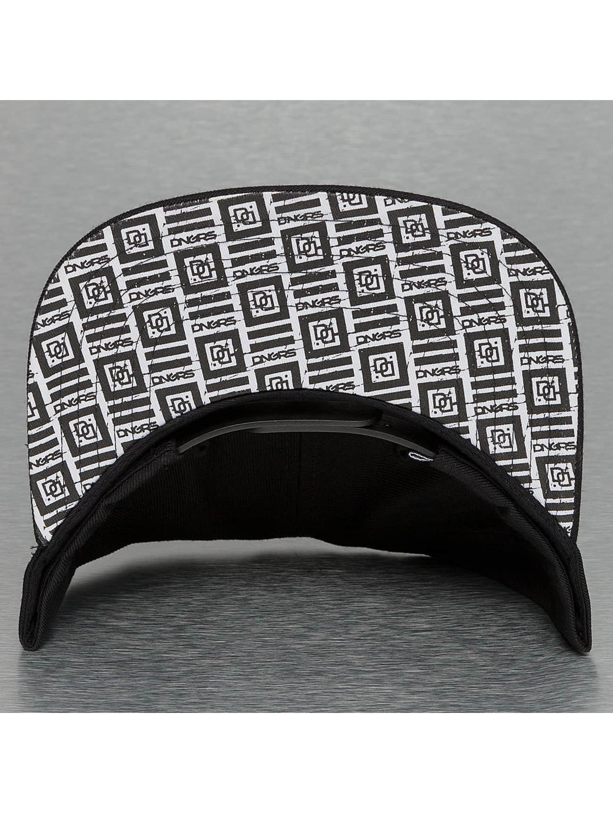 Dangerous DNGRS Snapback Caps Shadow svart