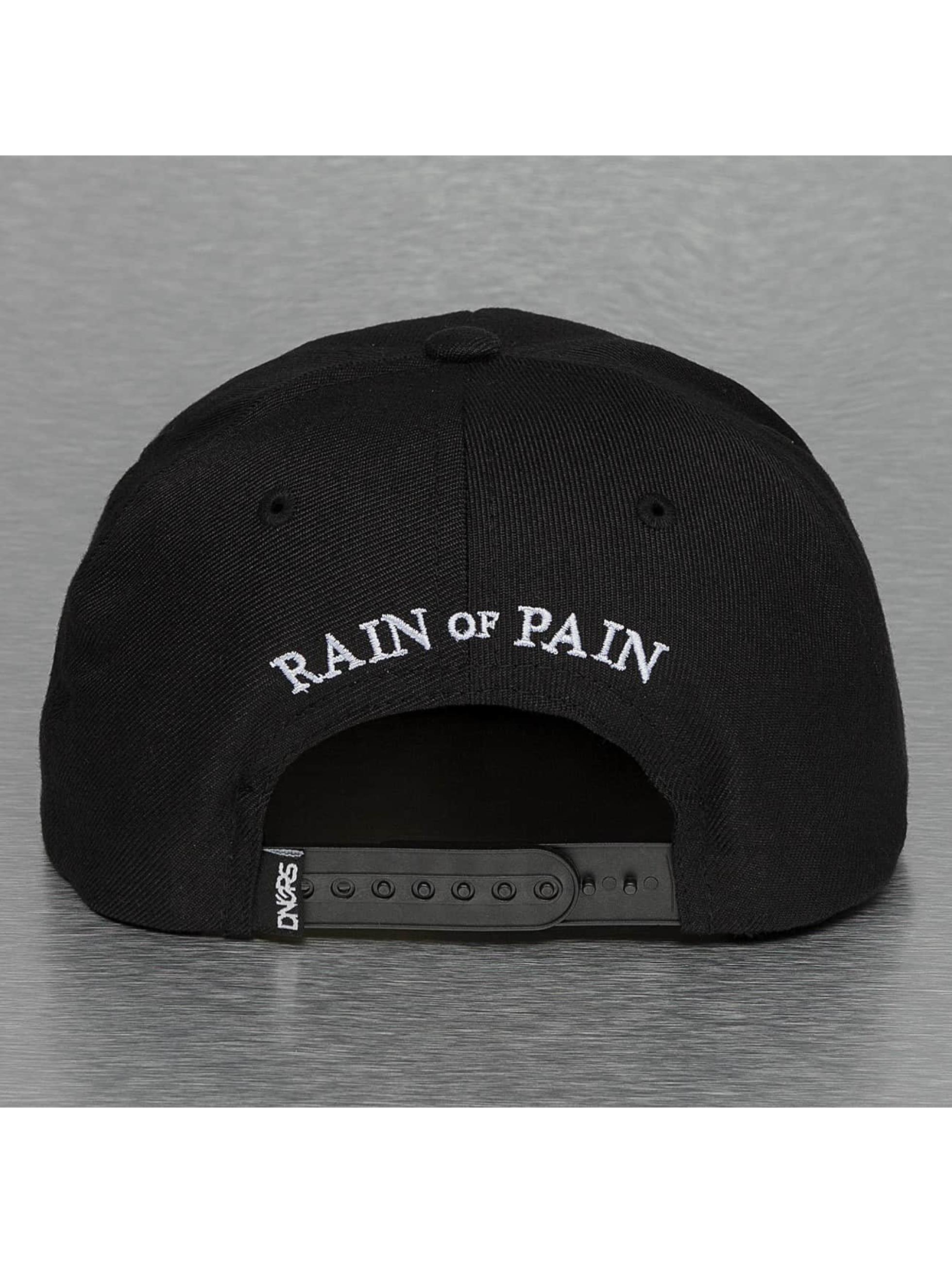 Dangerous DNGRS Snapback Caps Rain Of Pain svart