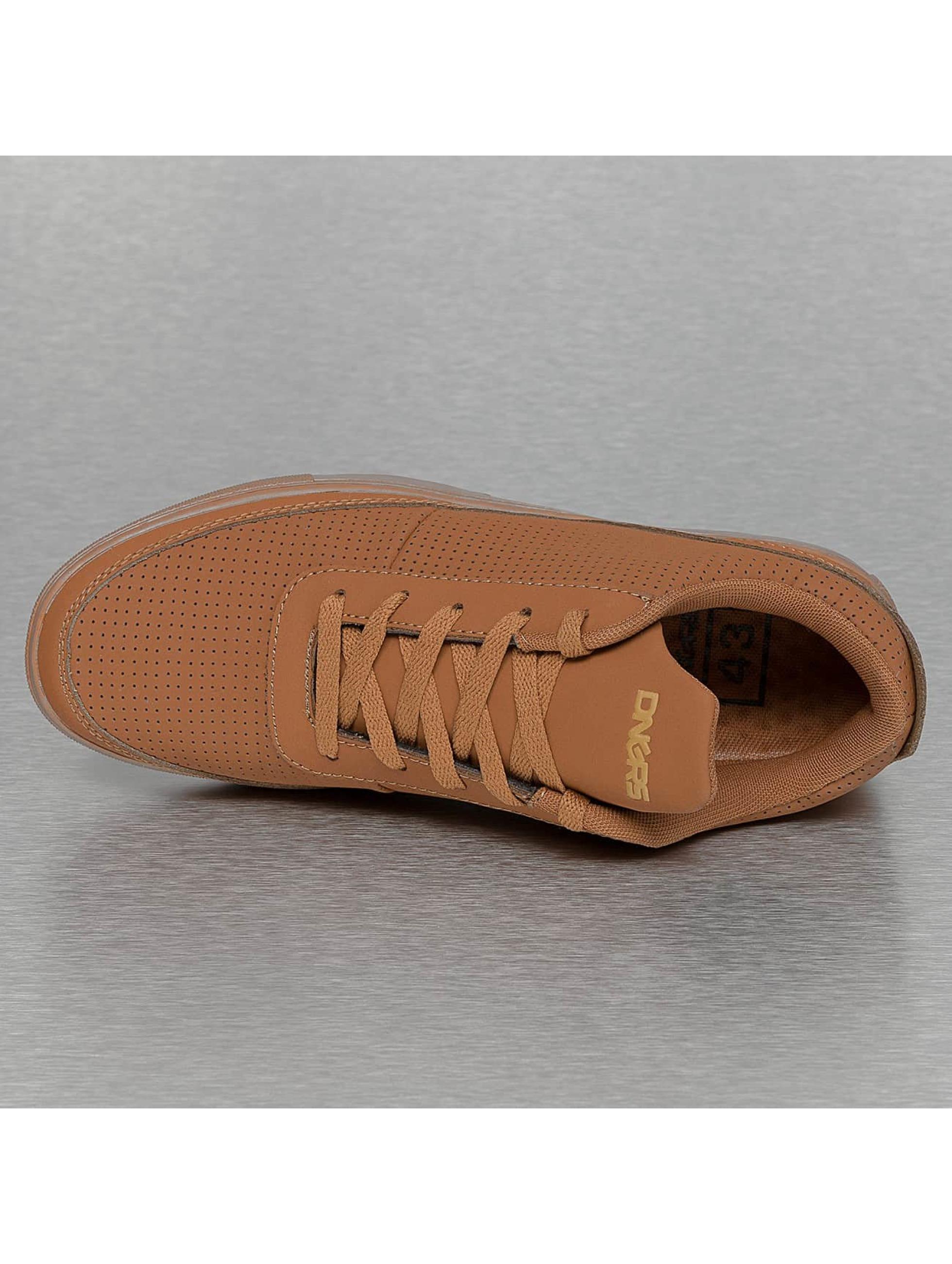 Dangerous DNGRS Sneakers Perforated brun