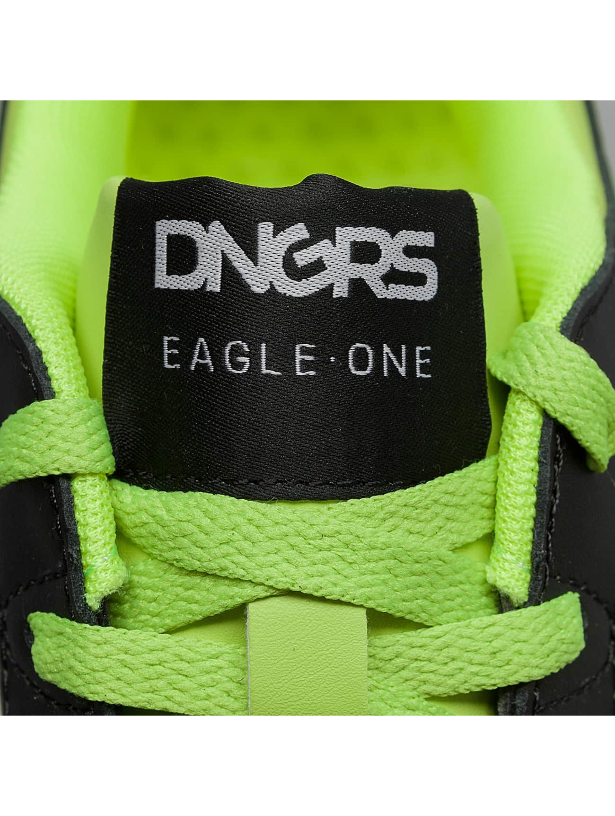 Dangerous DNGRS Sneakers Logo green