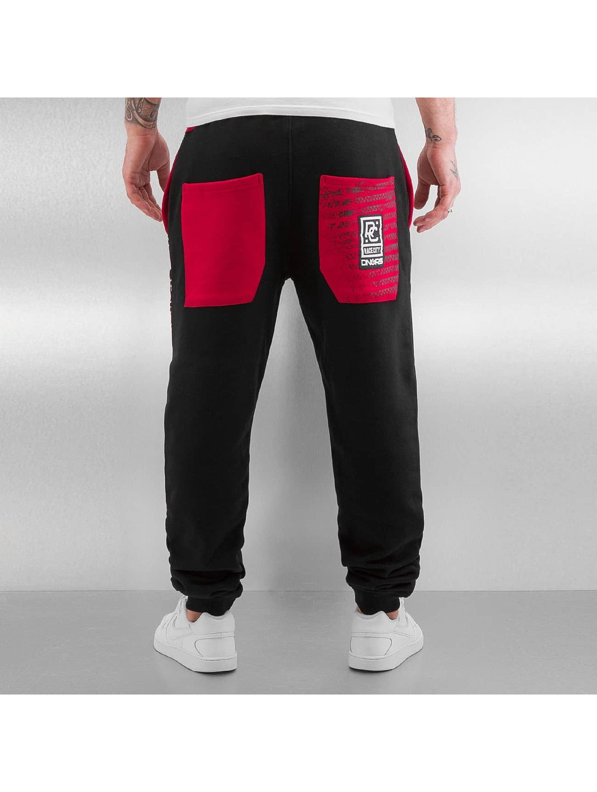 Dangerous DNGRS Spodnie do joggingu Rally Race City czarny
