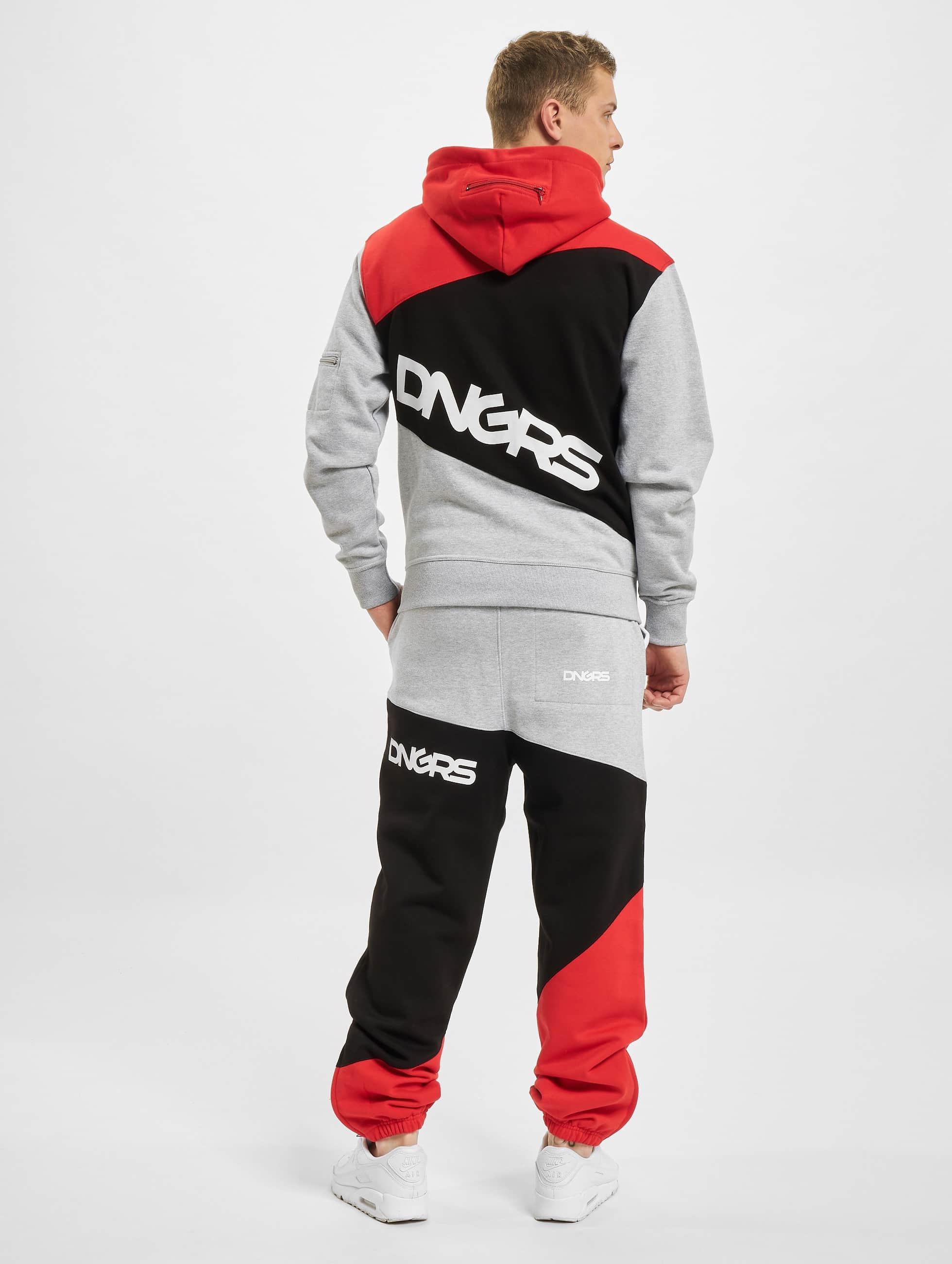 Dangerous DNGRS Suits Sweat red