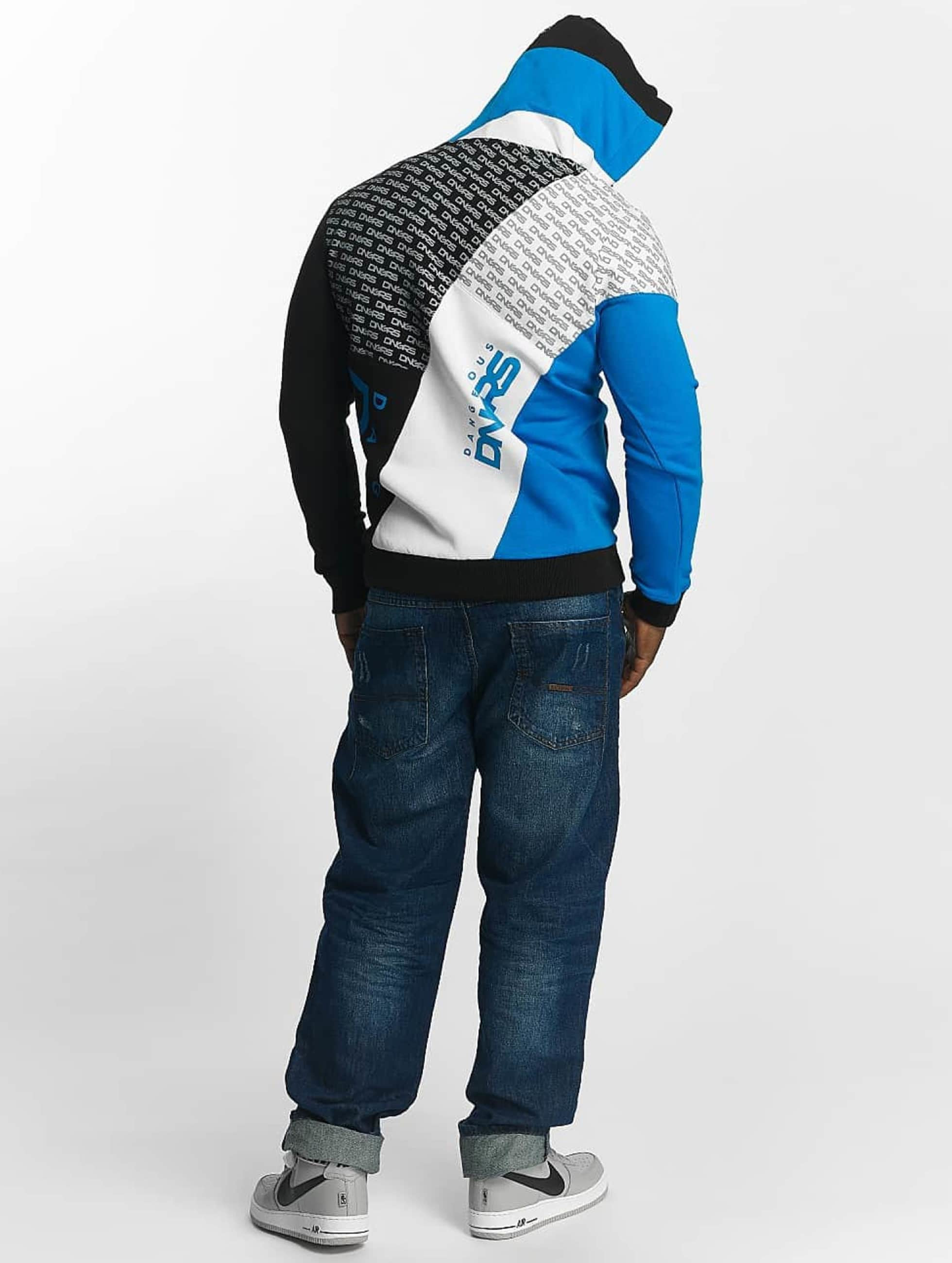 Dangerous DNGRS Sweat capuche Logo bleu