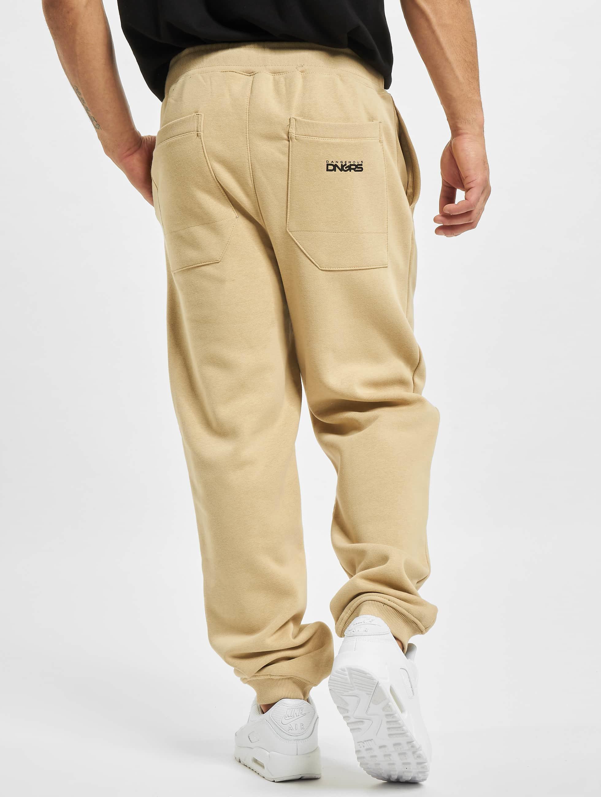 Dangerous DNGRS Sweat Pant Classic beige