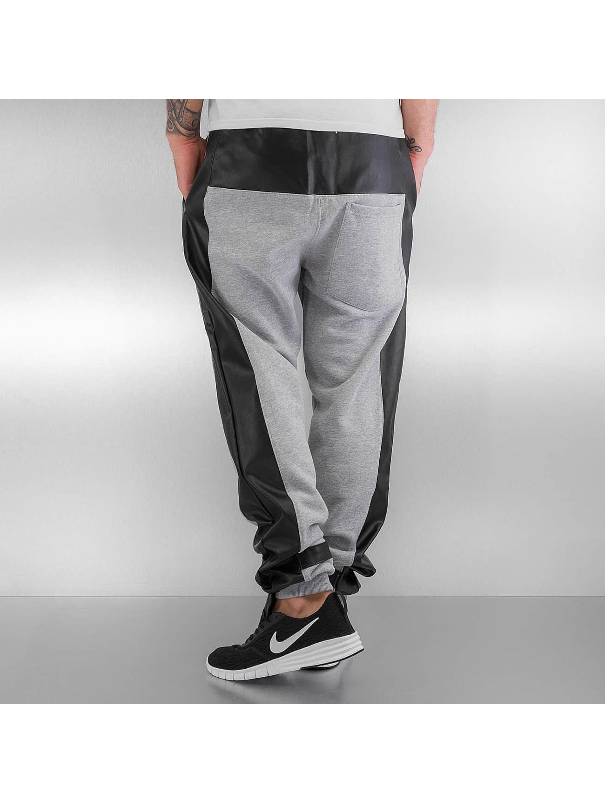 Dangerous DNGRS Sweat Pant PU Outlines gray