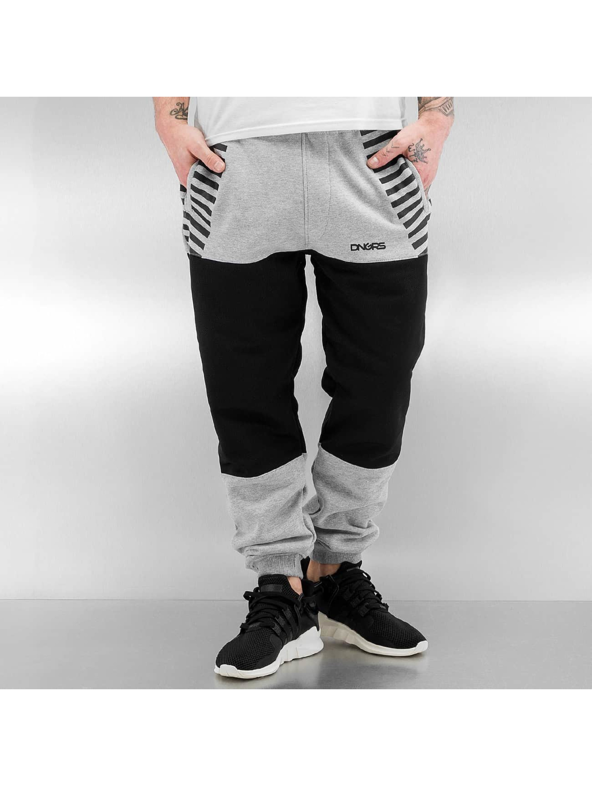 Dangerous DNGRS Sweat Pant Race City II grey