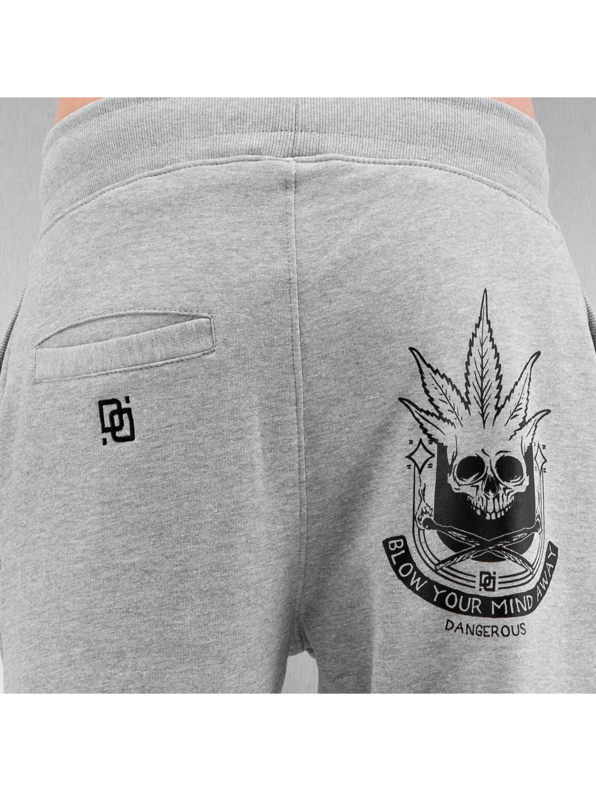 Dangerous DNGRS Sweat Pant Hempskull grey