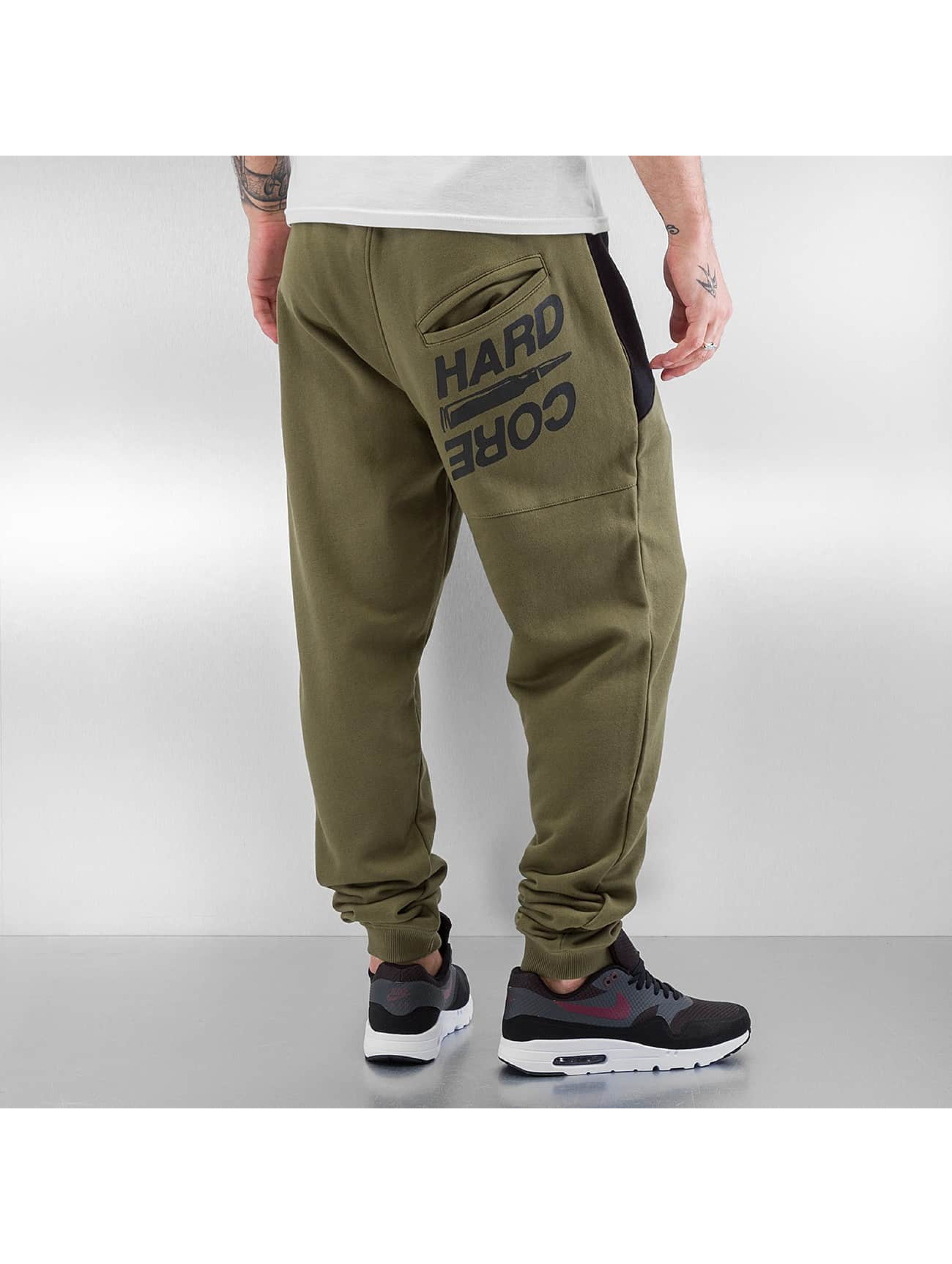 Dangerous DNGRS Sweat Pant Hardcore olive