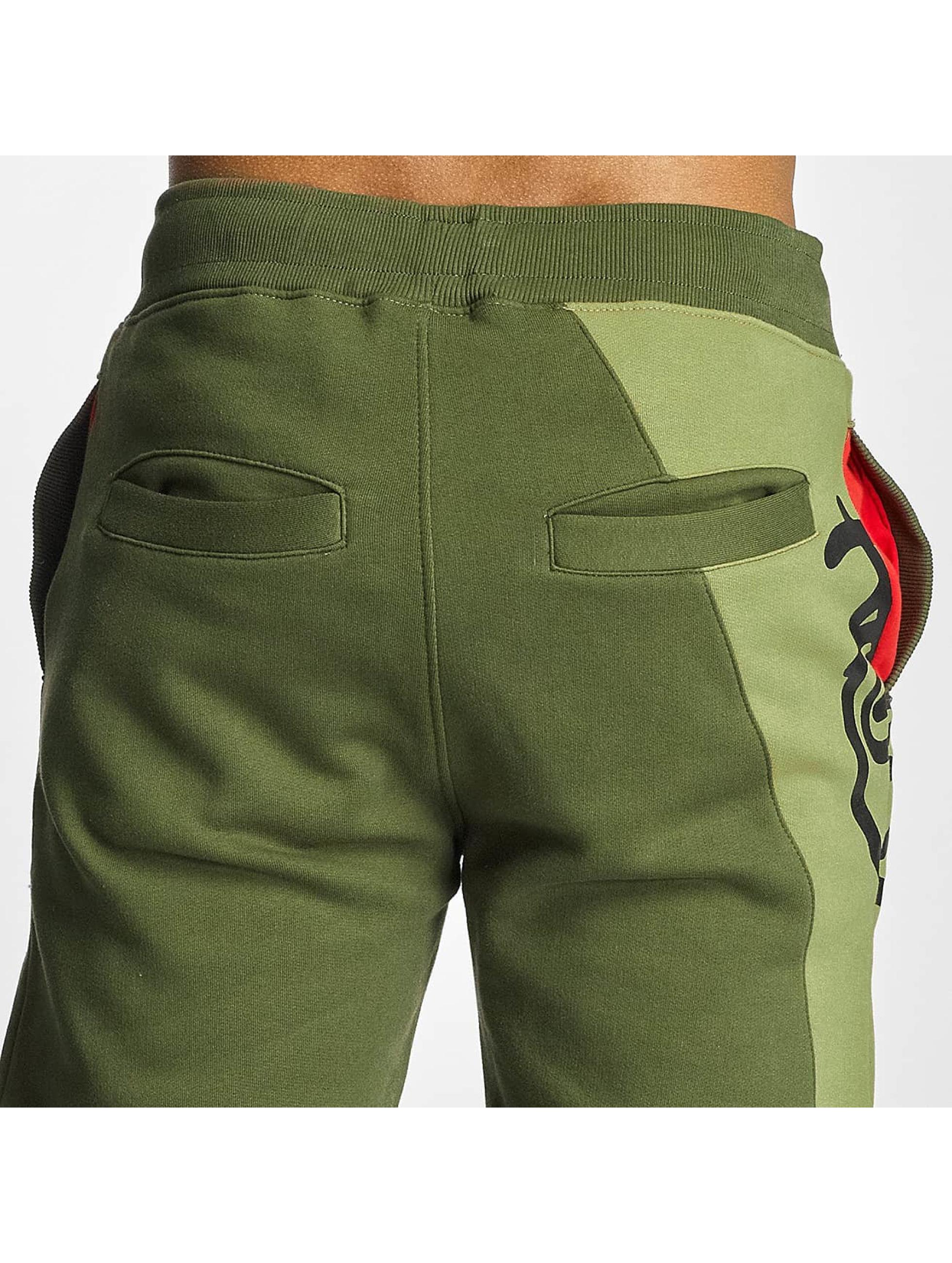 Dangerous DNGRS Sweat Pant LGNDZ Logo olive