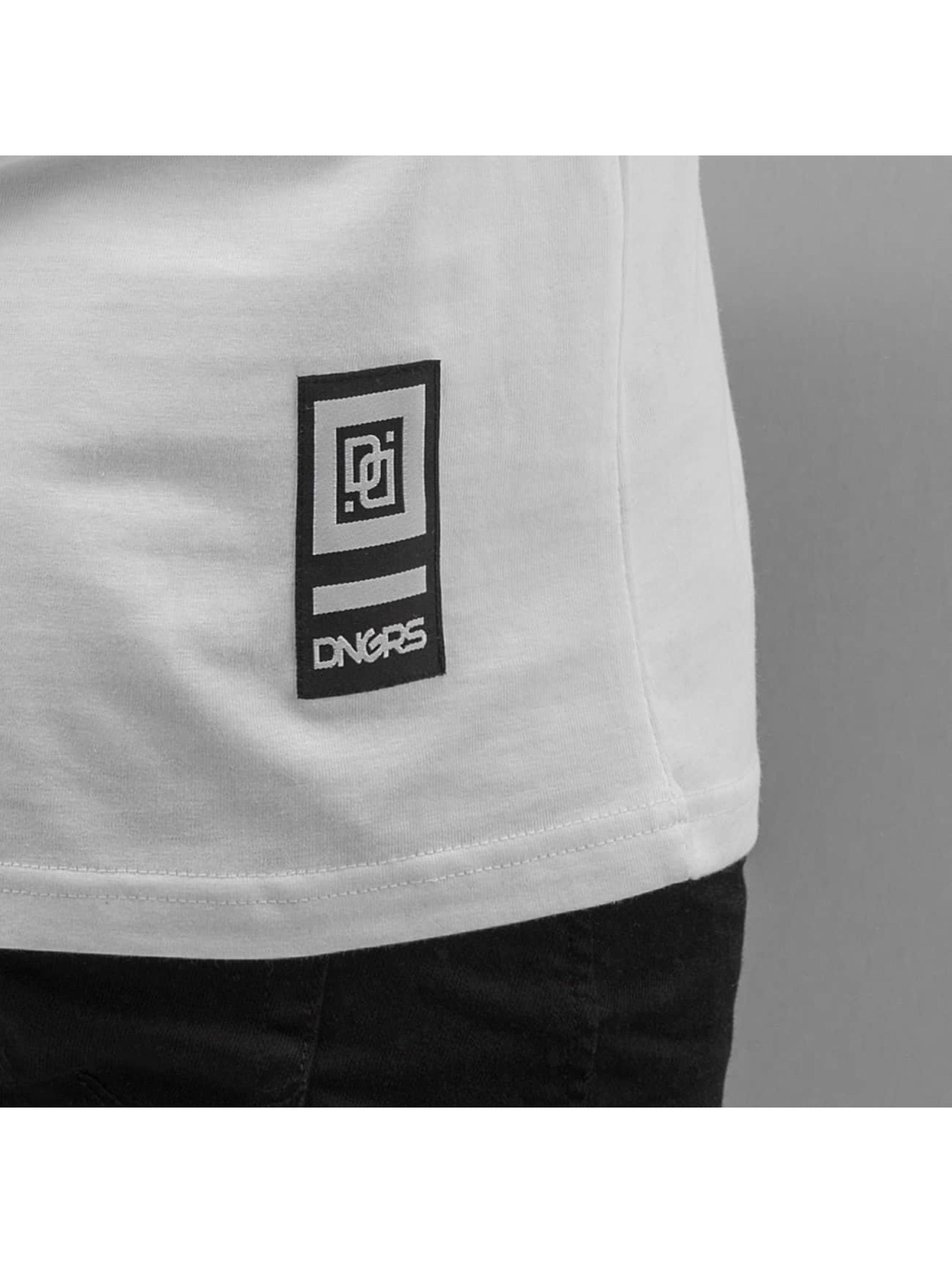 Dangerous DNGRS T-paidat Line valkoinen