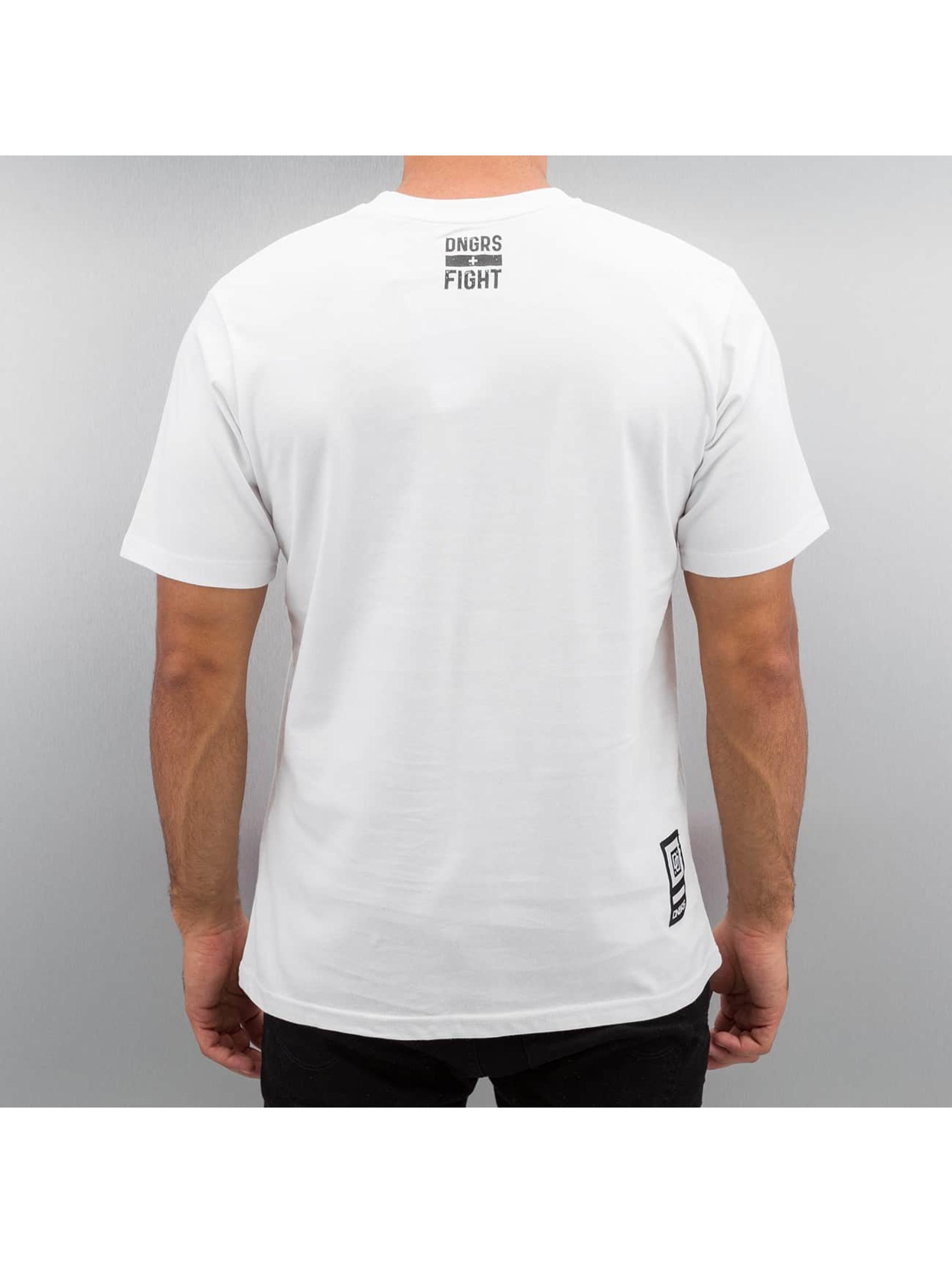 Dangerous DNGRS T-paidat Fight valkoinen