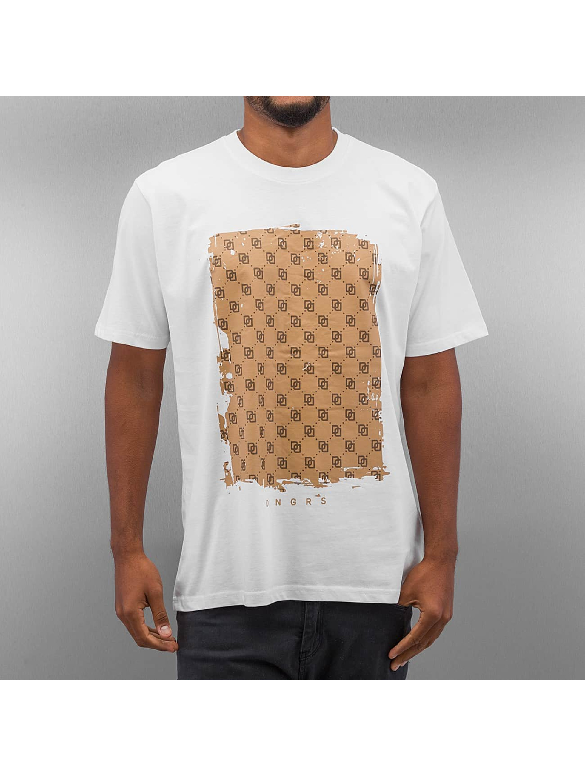 Dangerous DNGRS T-paidat Doris Duitton valkoinen