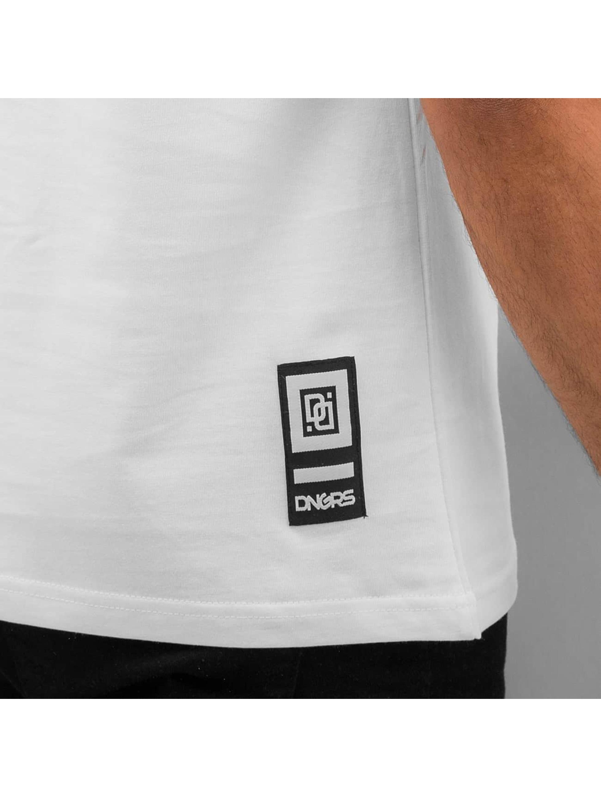 Dangerous DNGRS T-paidat Hard Core valkoinen