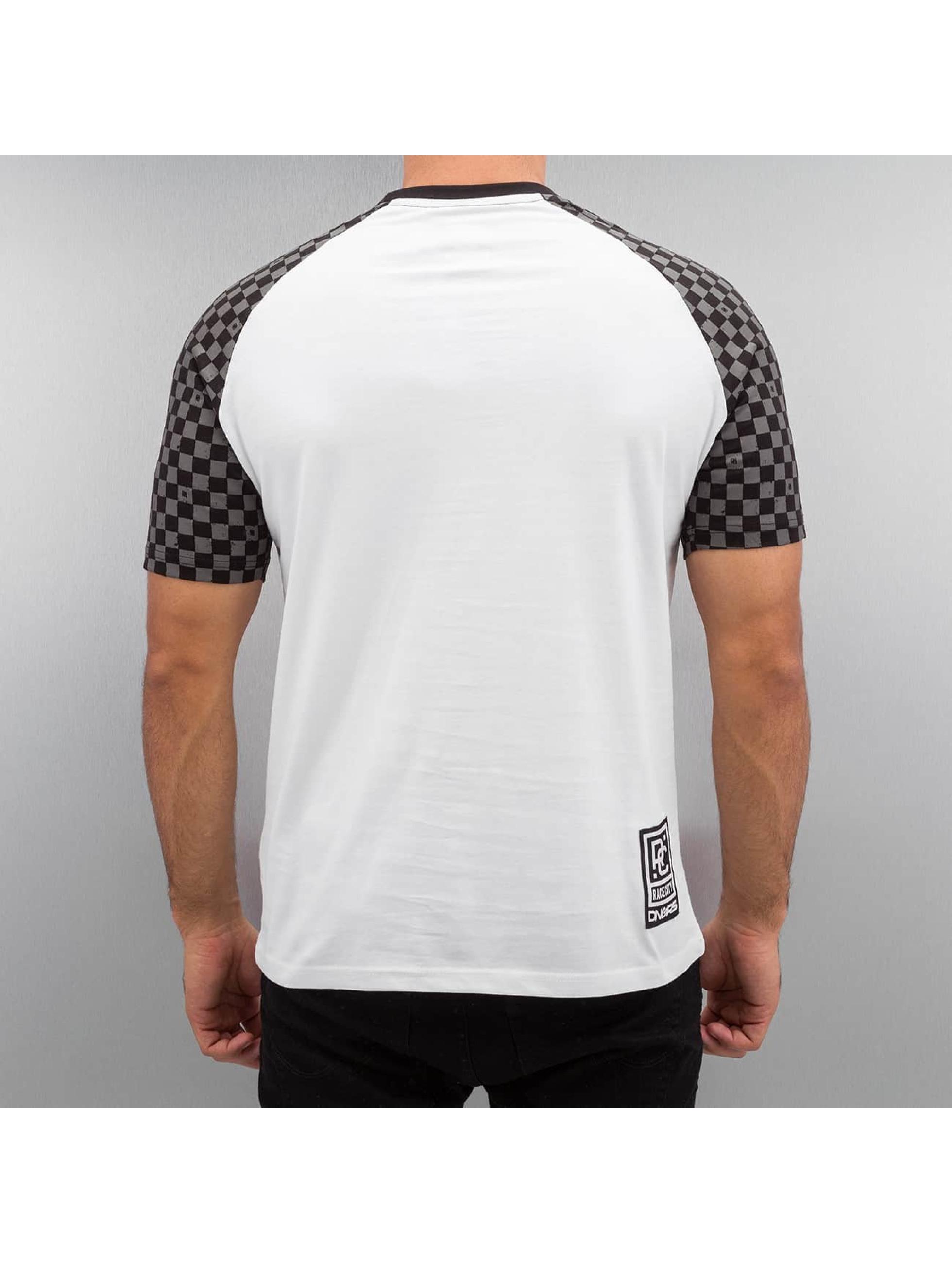 Dangerous DNGRS T-Shirt Big Doubles D blanc