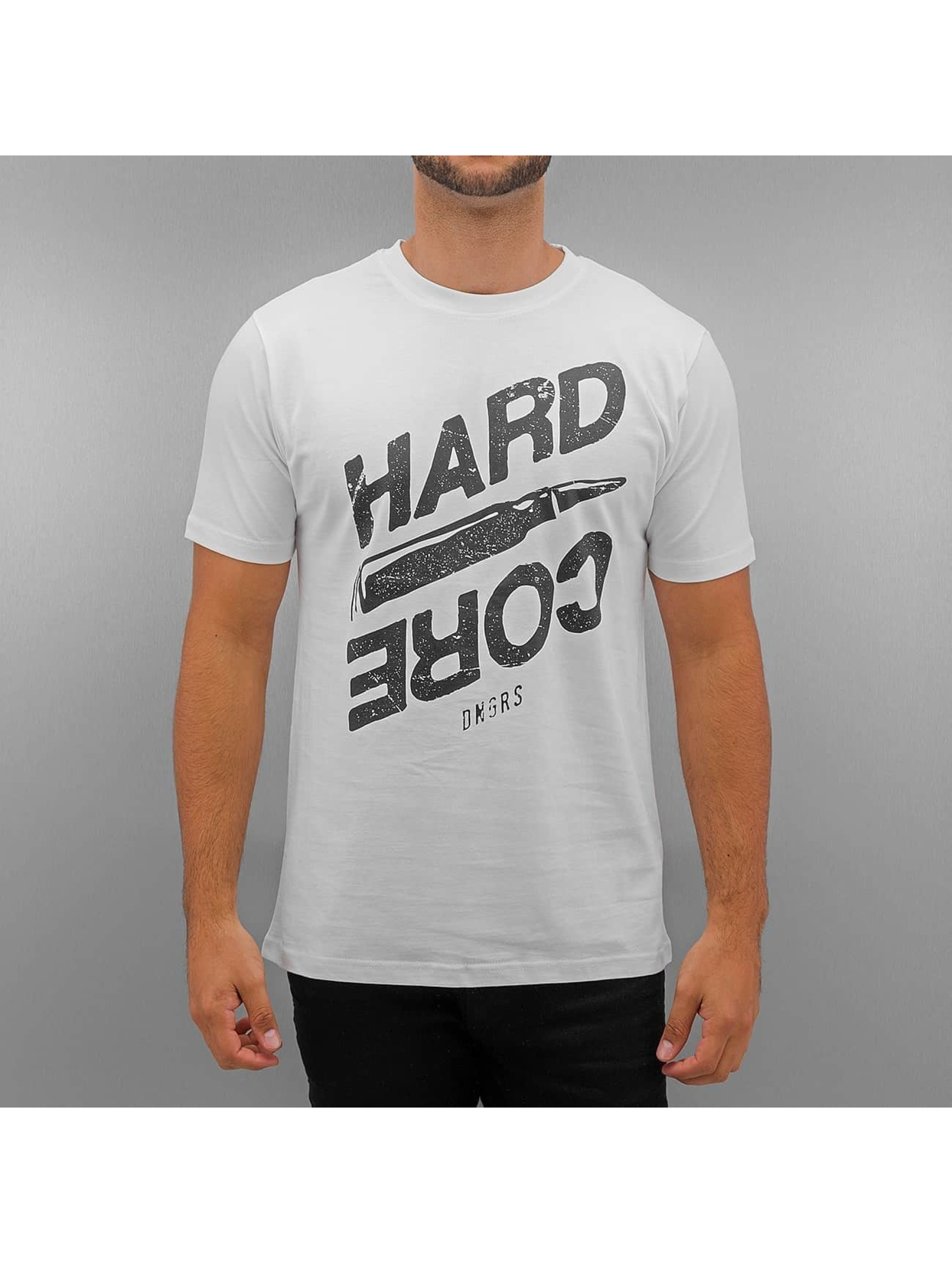 Dangerous DNGRS T-Shirt Hard Core blanc