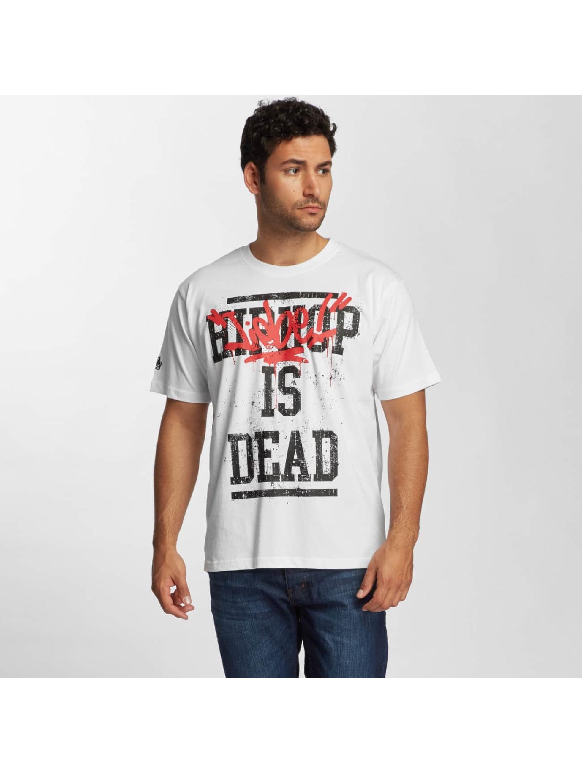 T-Shirt Dangerous DNGRS Liebeisdead en blanc
