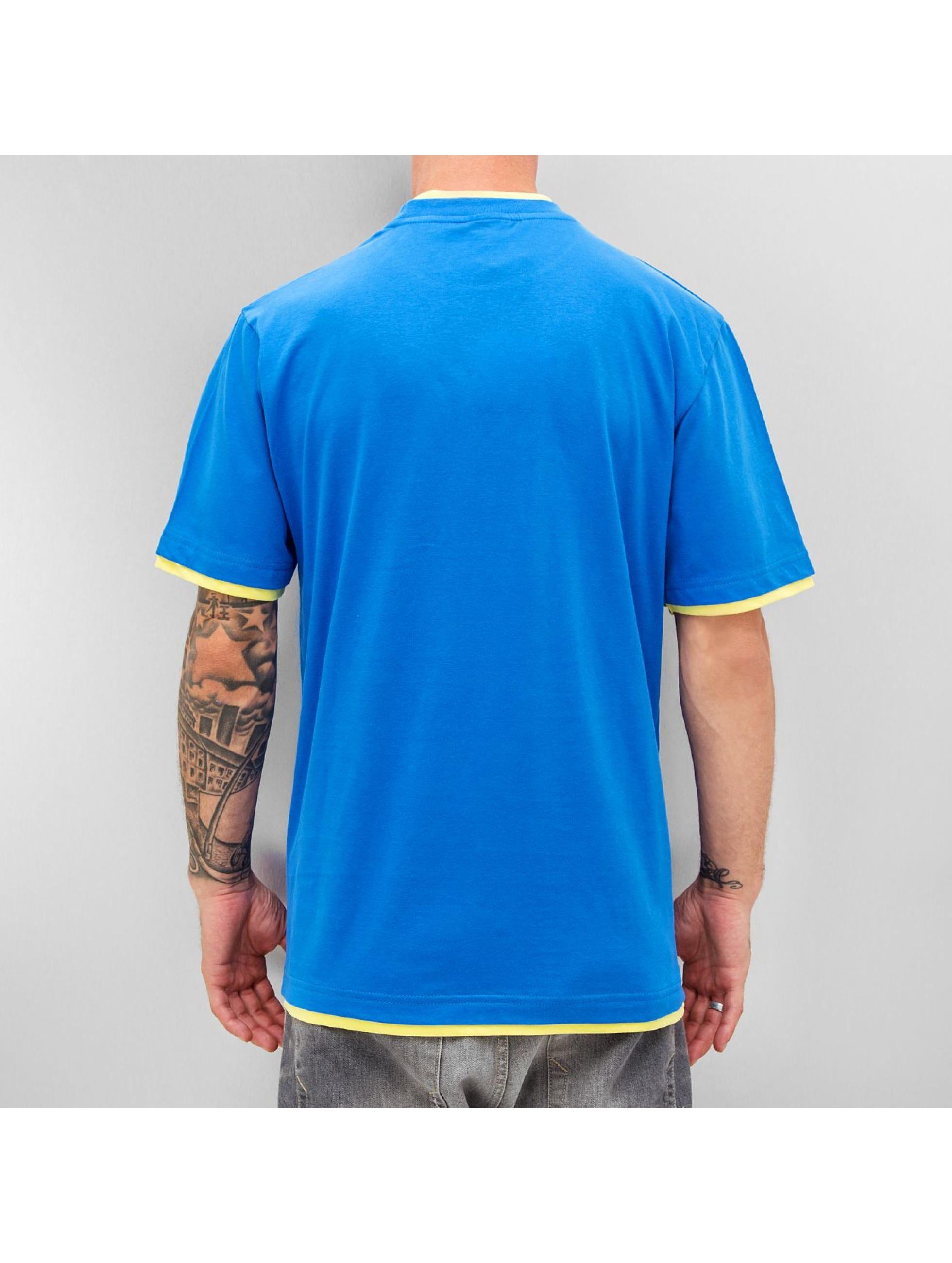 Dangerous DNGRS t-shirt Two Tone Regular blauw