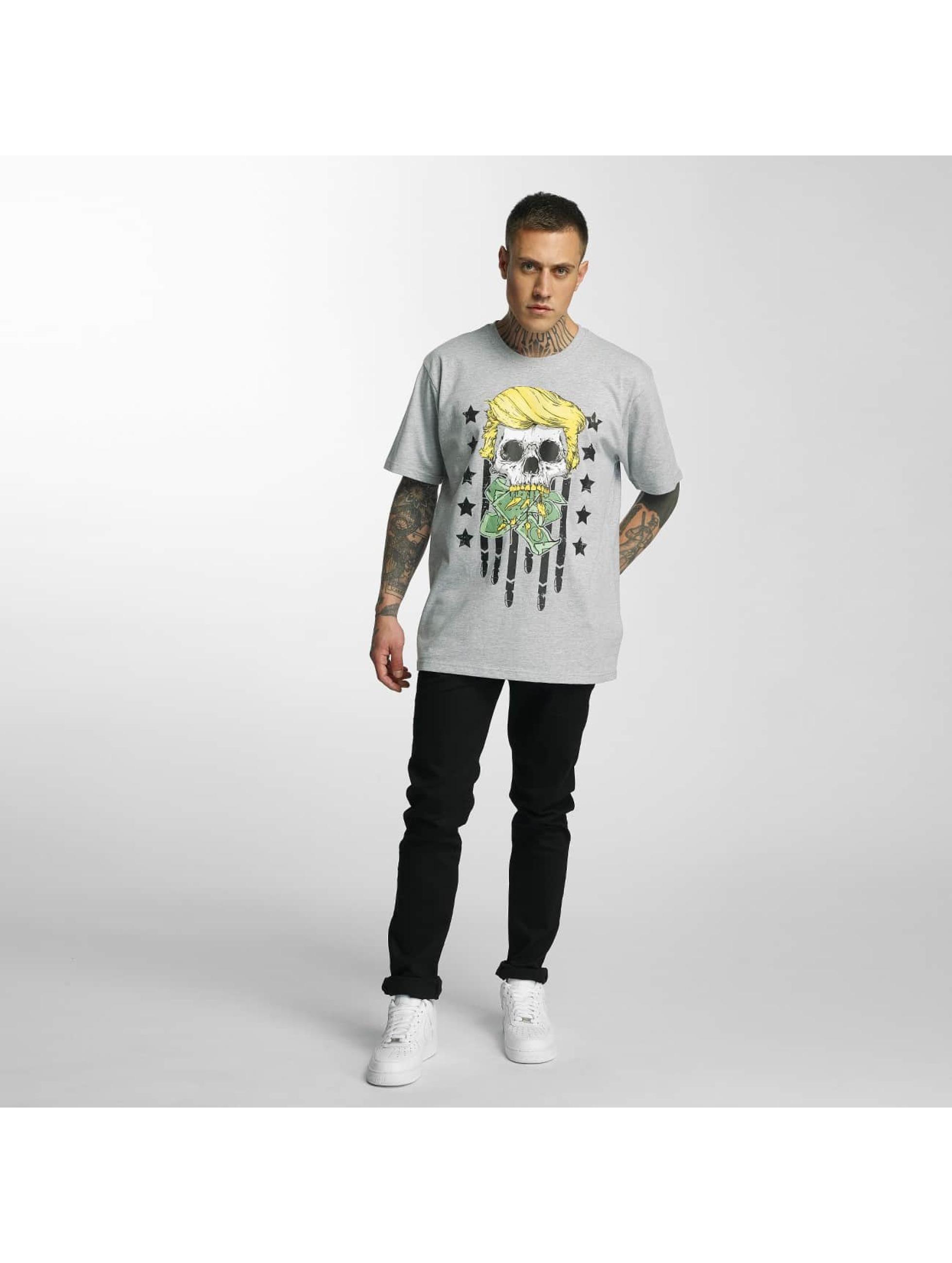 Dangerous DNGRS T-Shirt Don Bomb grey
