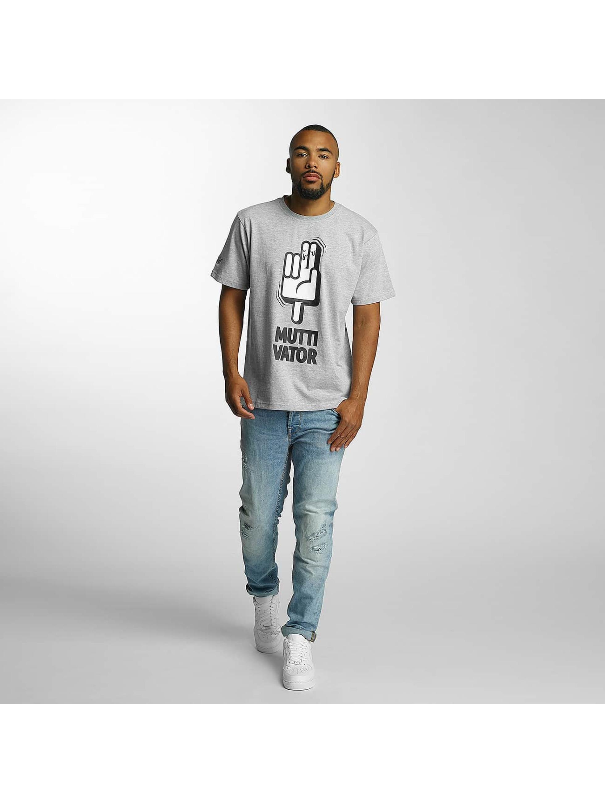 Dangerous DNGRS T-Shirt Muttivator grey